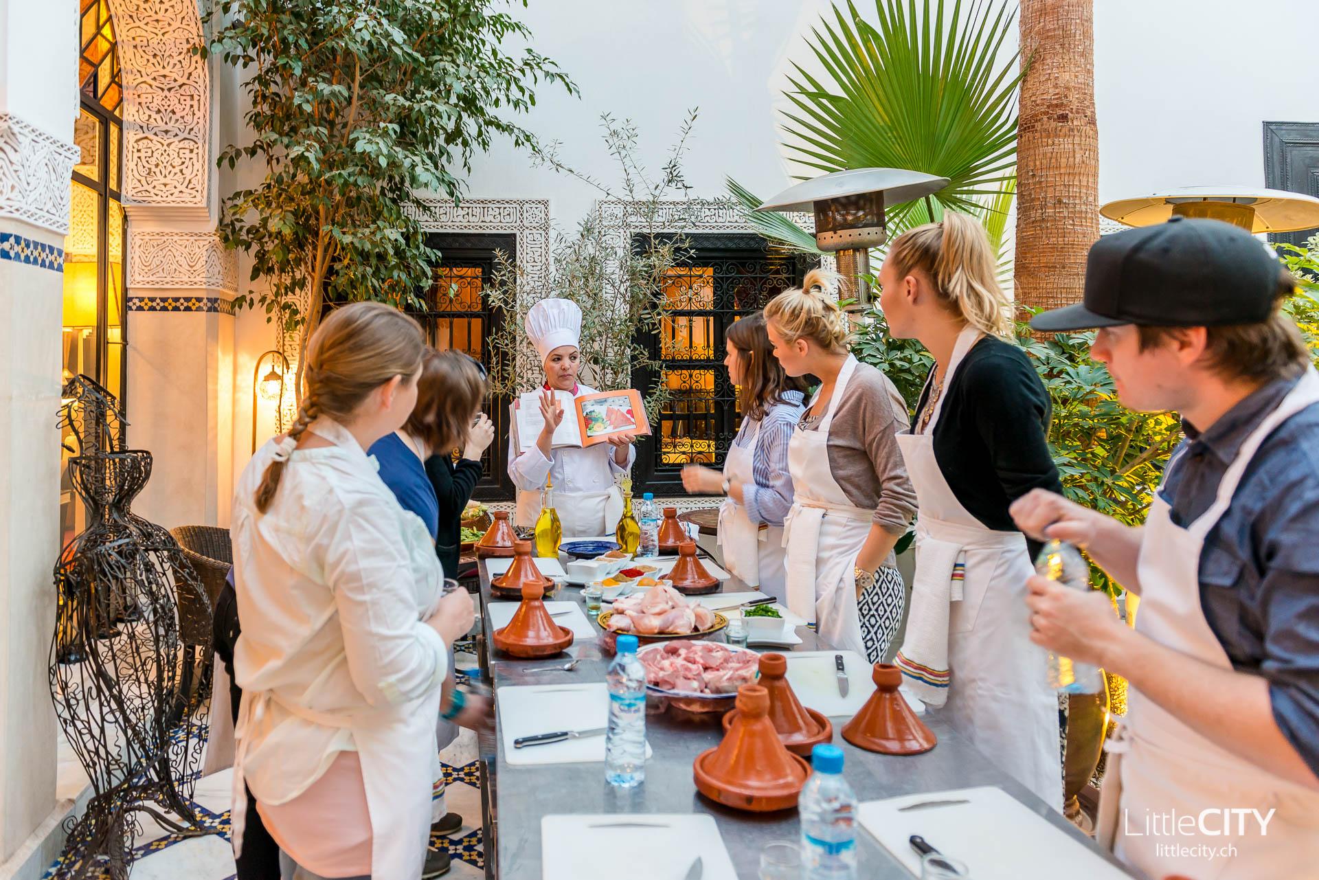 Riad Moncenau Marrakesch Cooking Class-1