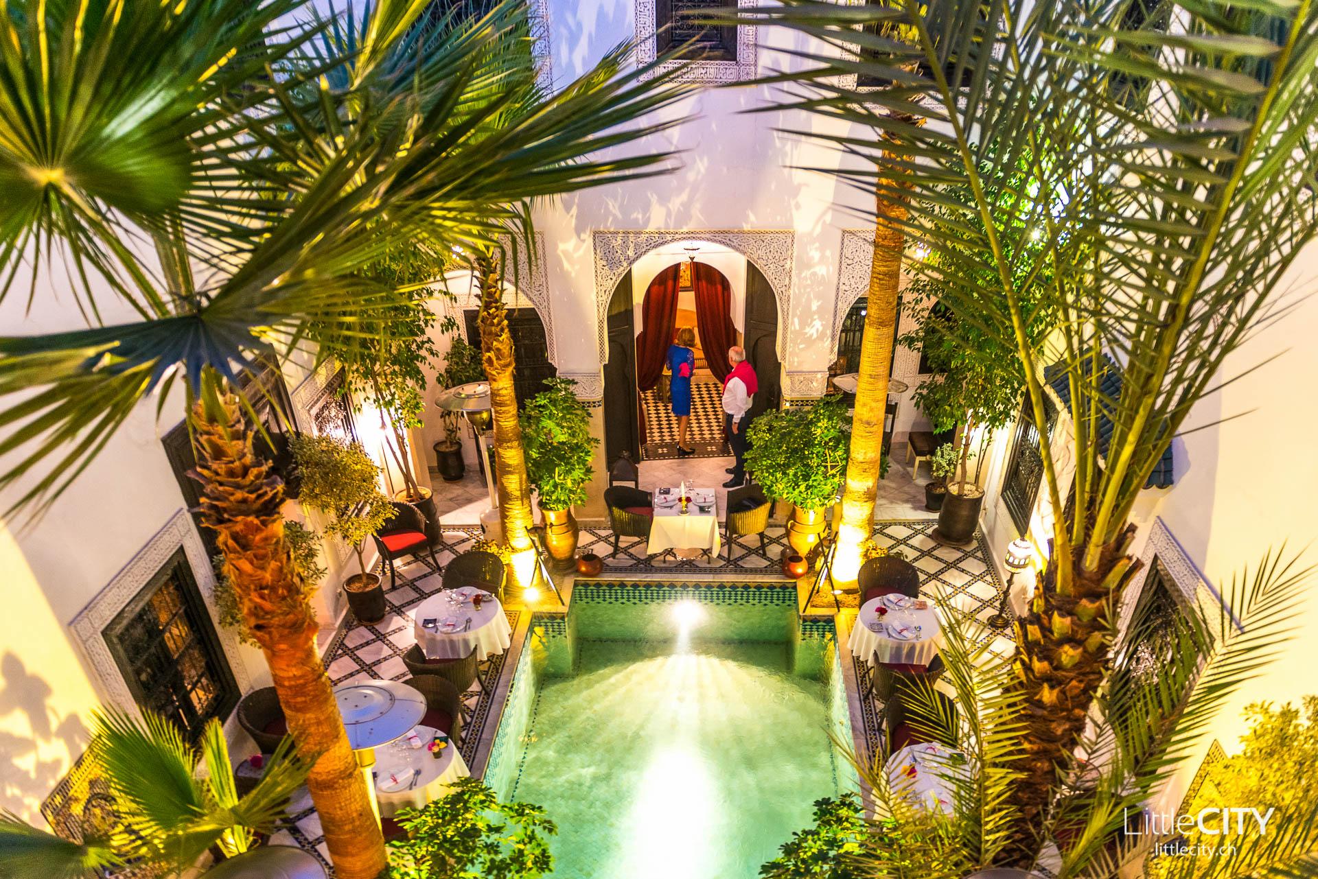 Riad Moncenau Marrakesch Restaurant-1