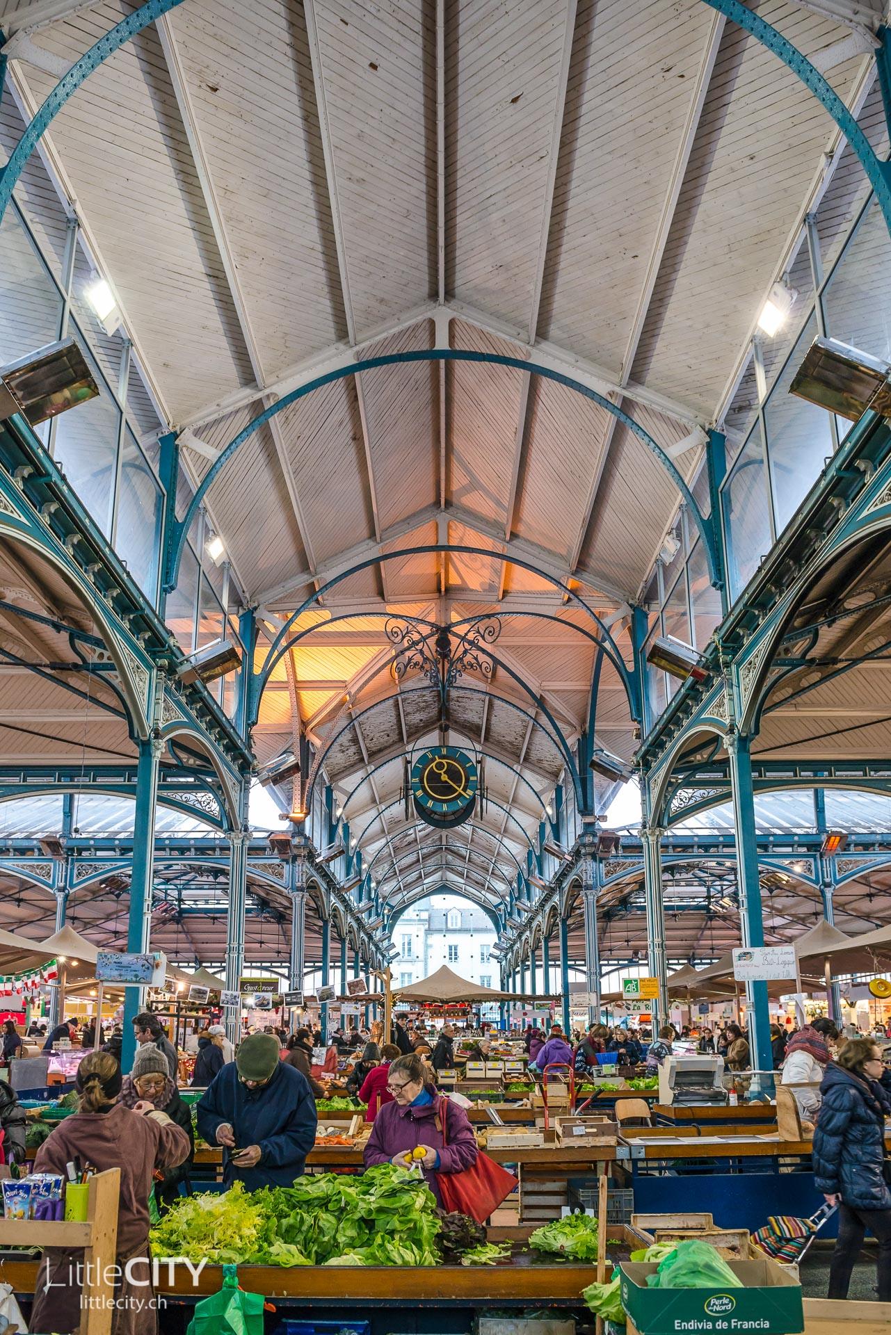 Les halles de Dijon - Food Markt