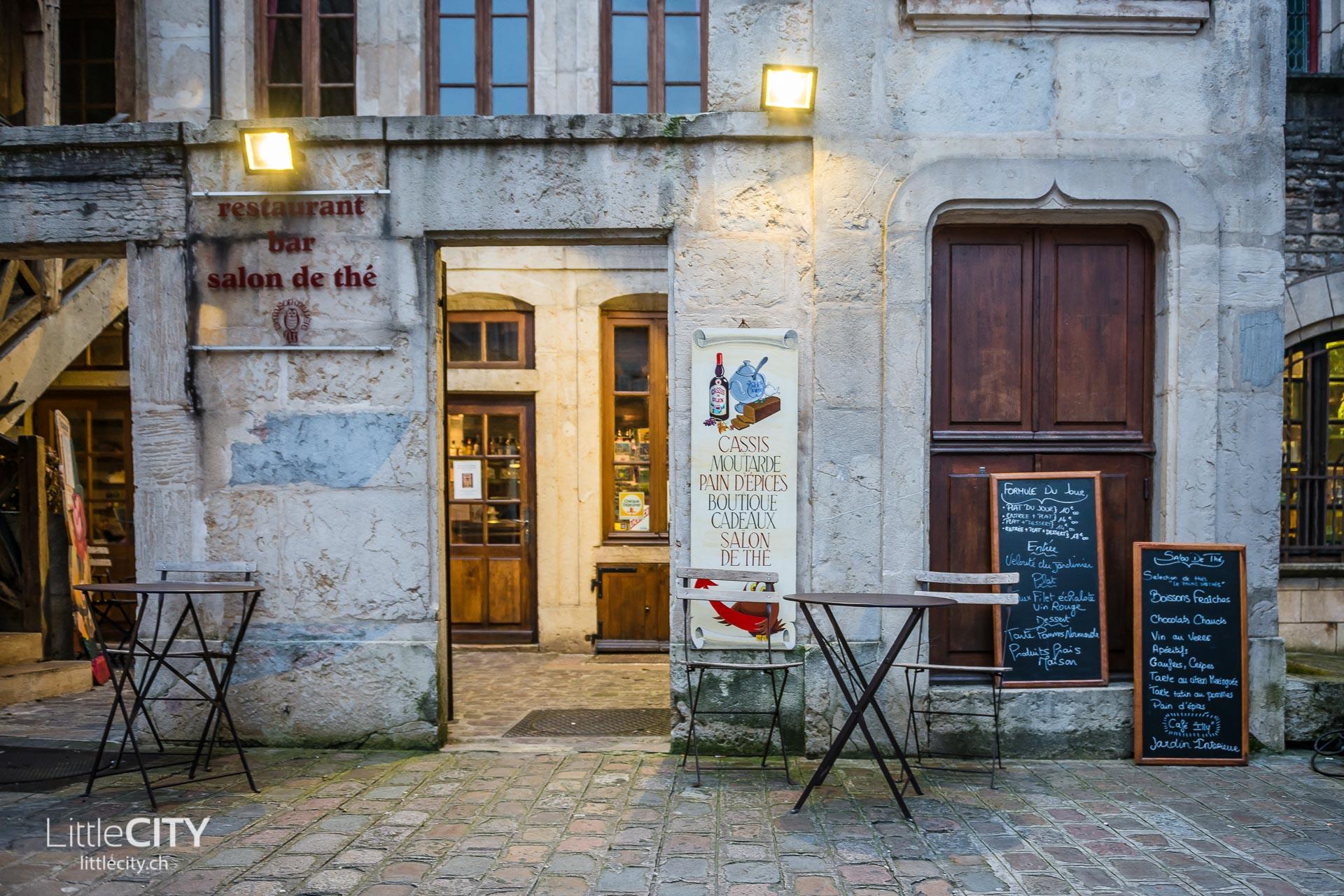 Dijon Städtetripp: Salon de Thé