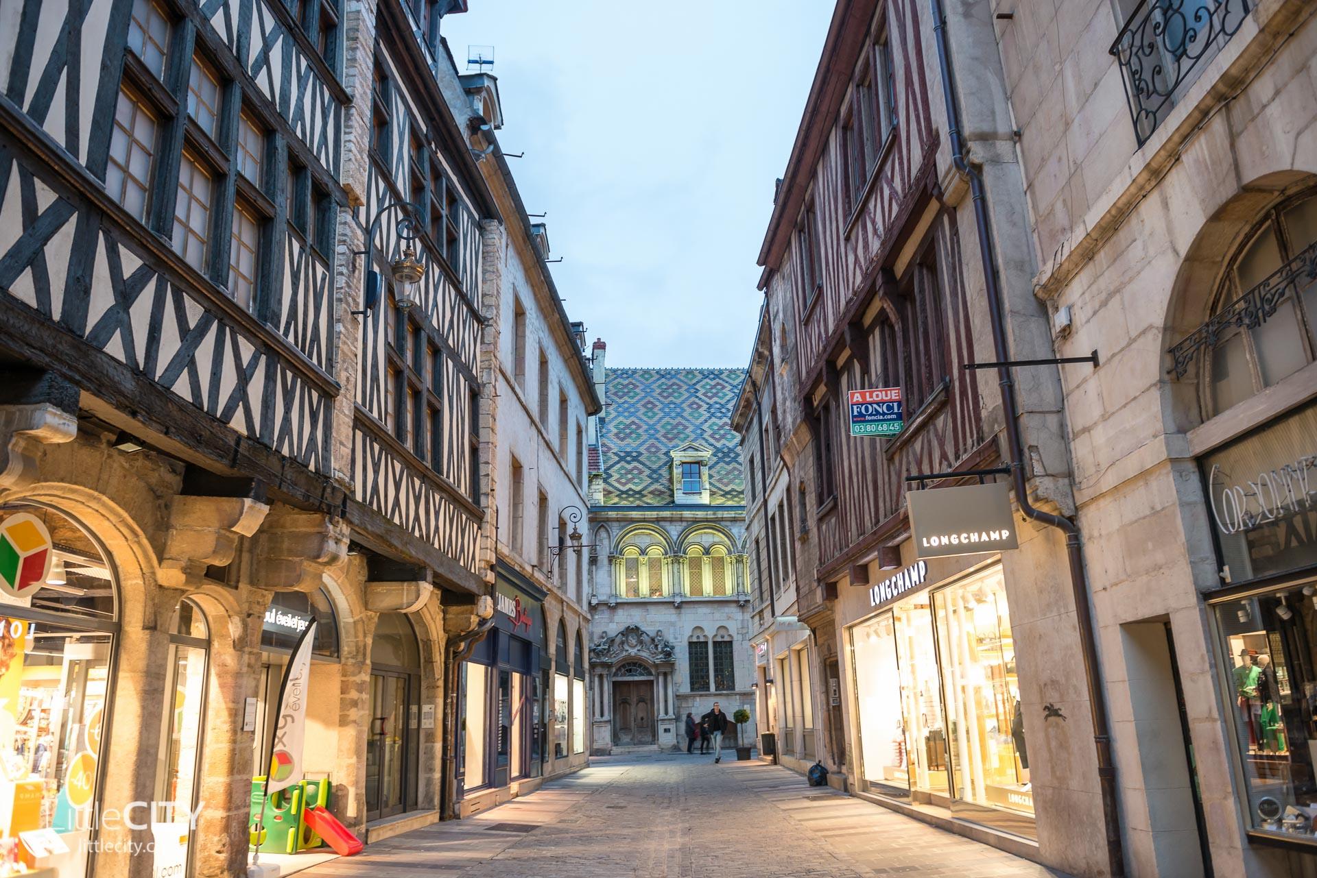 Dijon Städtetripp Reisetipps - Altstadt