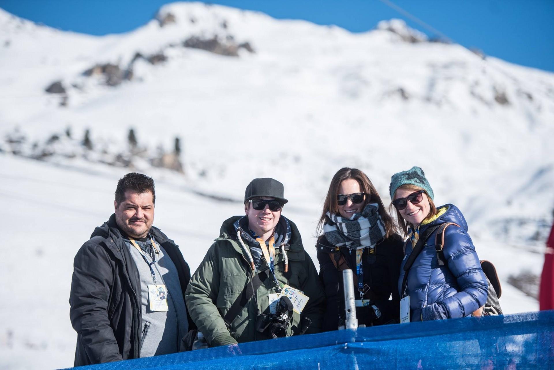 FIS Worls Cup St. Moritz 2016 Blogger