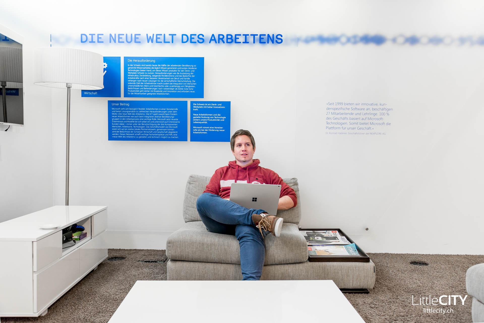 Microsoft Schweiz Büros LittleCITY-7