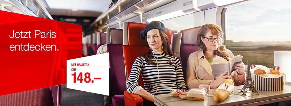 SBB Kampagne Paris Valeria