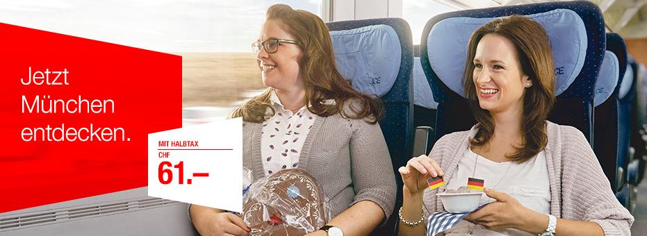 SBB Werbekampagne München