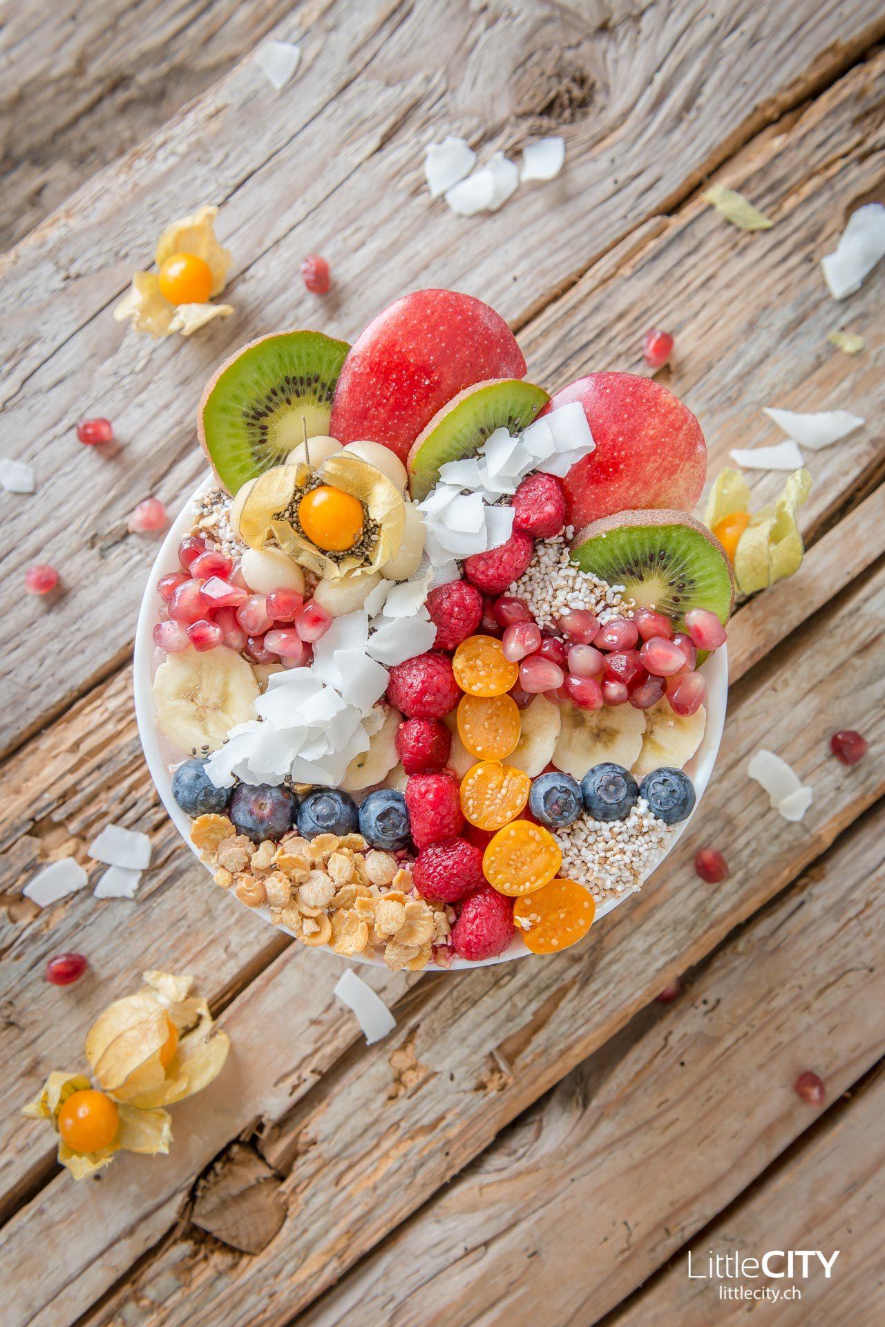 Smoothie Früchte Bowl-8653