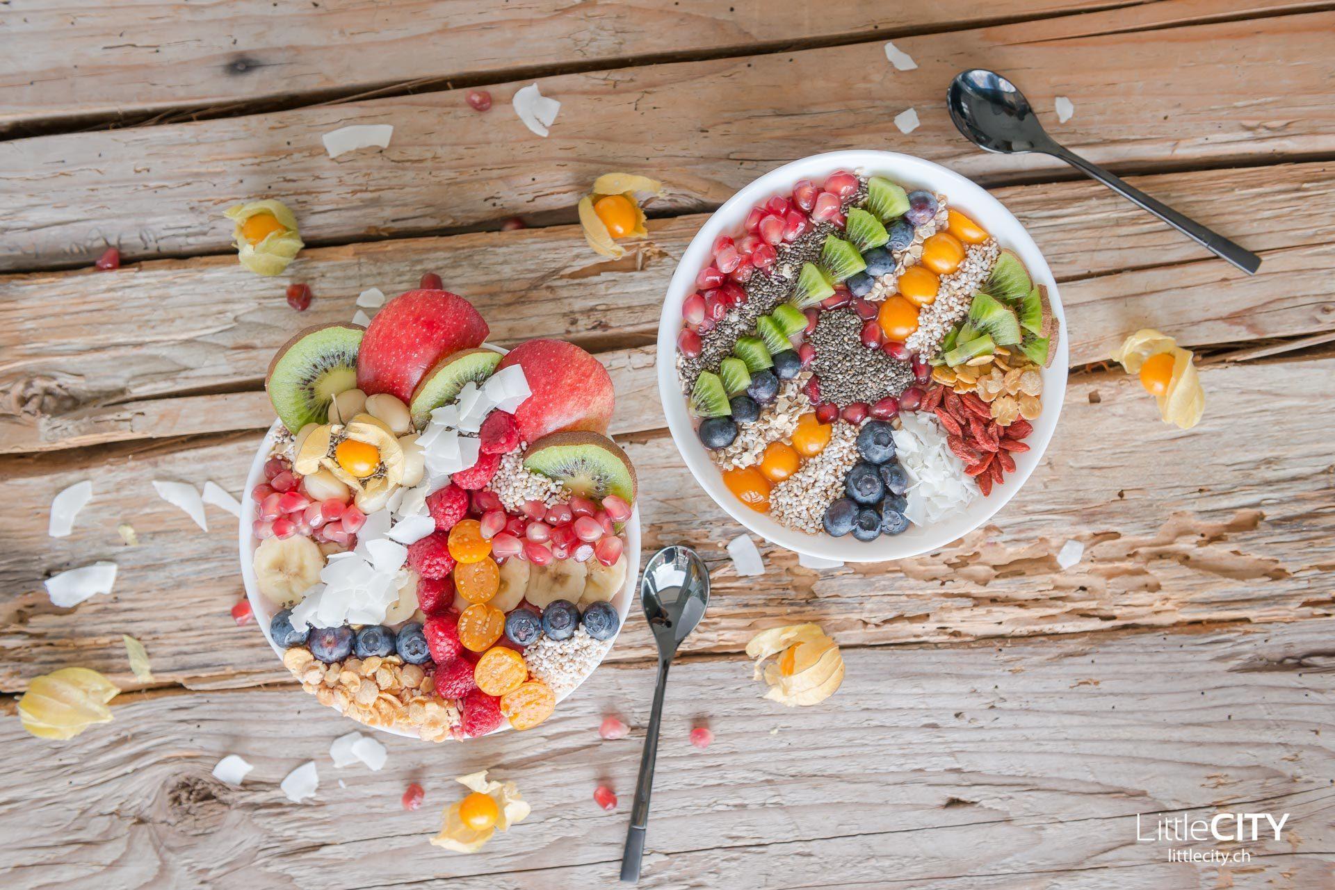 Smoothie Früchte Bowl-8694