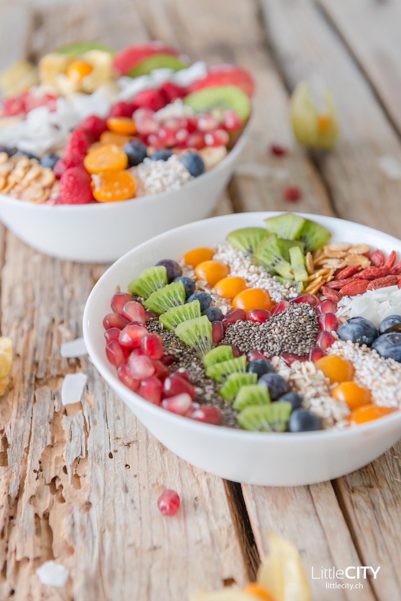 Smoothie Früchte Bowl-8701