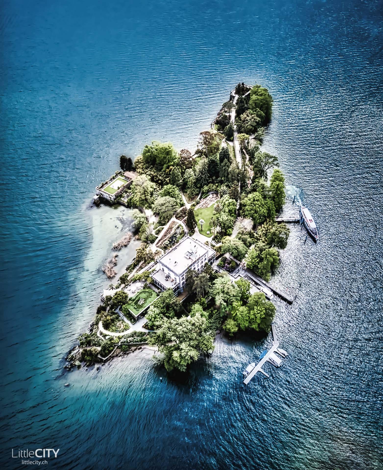 Tessin Sehenswürdigkeiten Brisago Inseln
