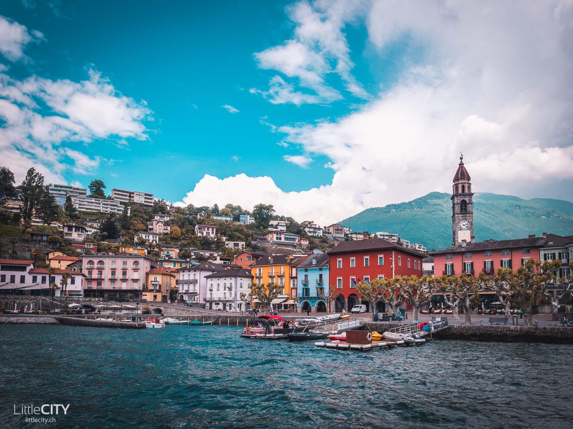 Tessin Sehenswürdigleiten Ascona