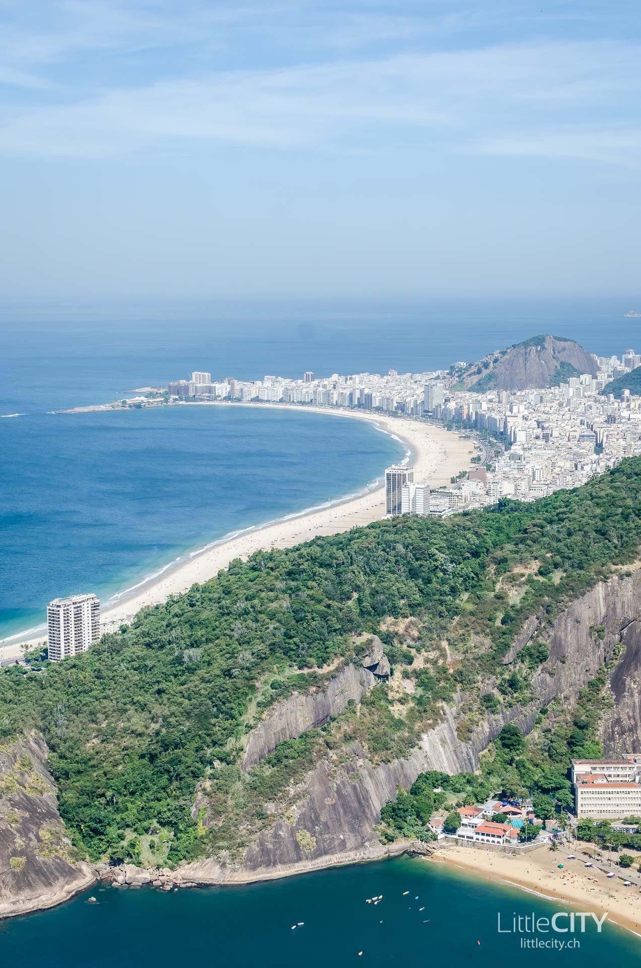 Copacabana Rio de Janeiro Aussicht Zuckerhut