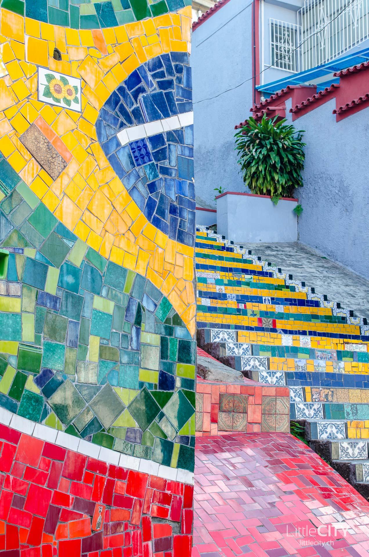 Escadaria Selaron Rio de Janeiro-1