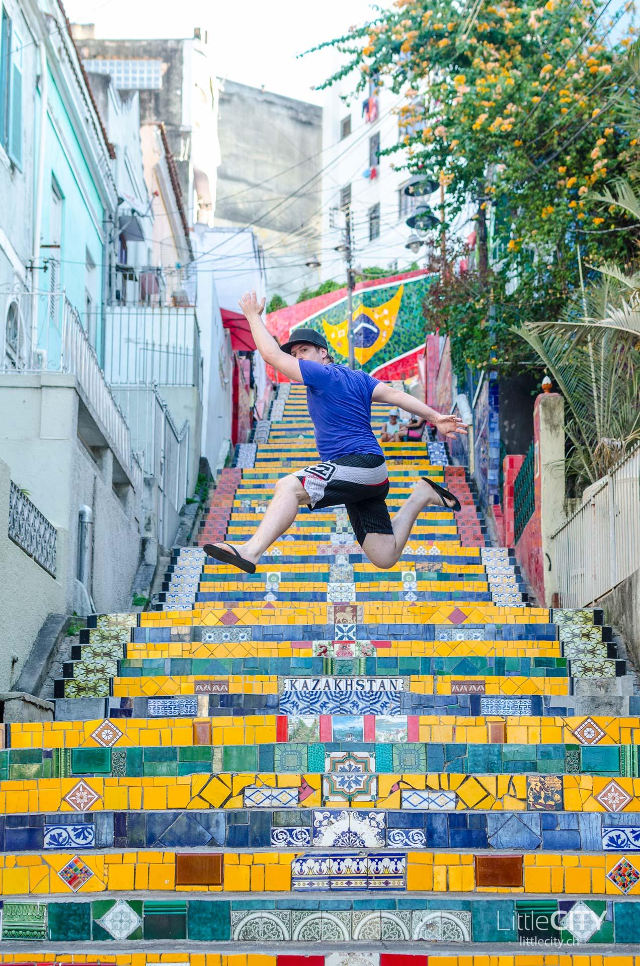 Escadaria Selaron Rio de Janeiro LittleCITY-5