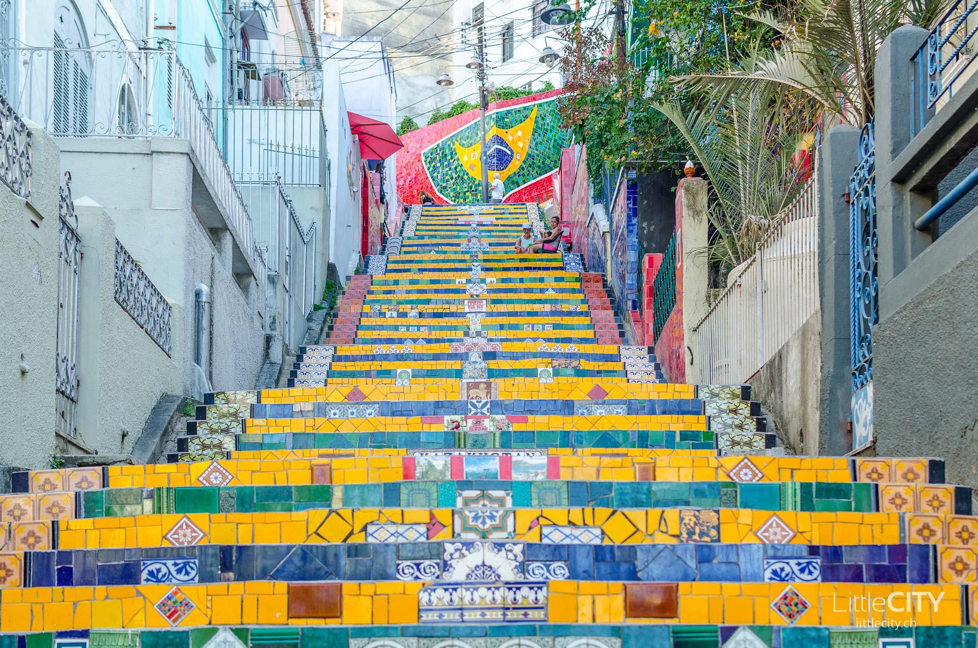 Escadaria Selaron Rio de Janeiro LittleCITY-7