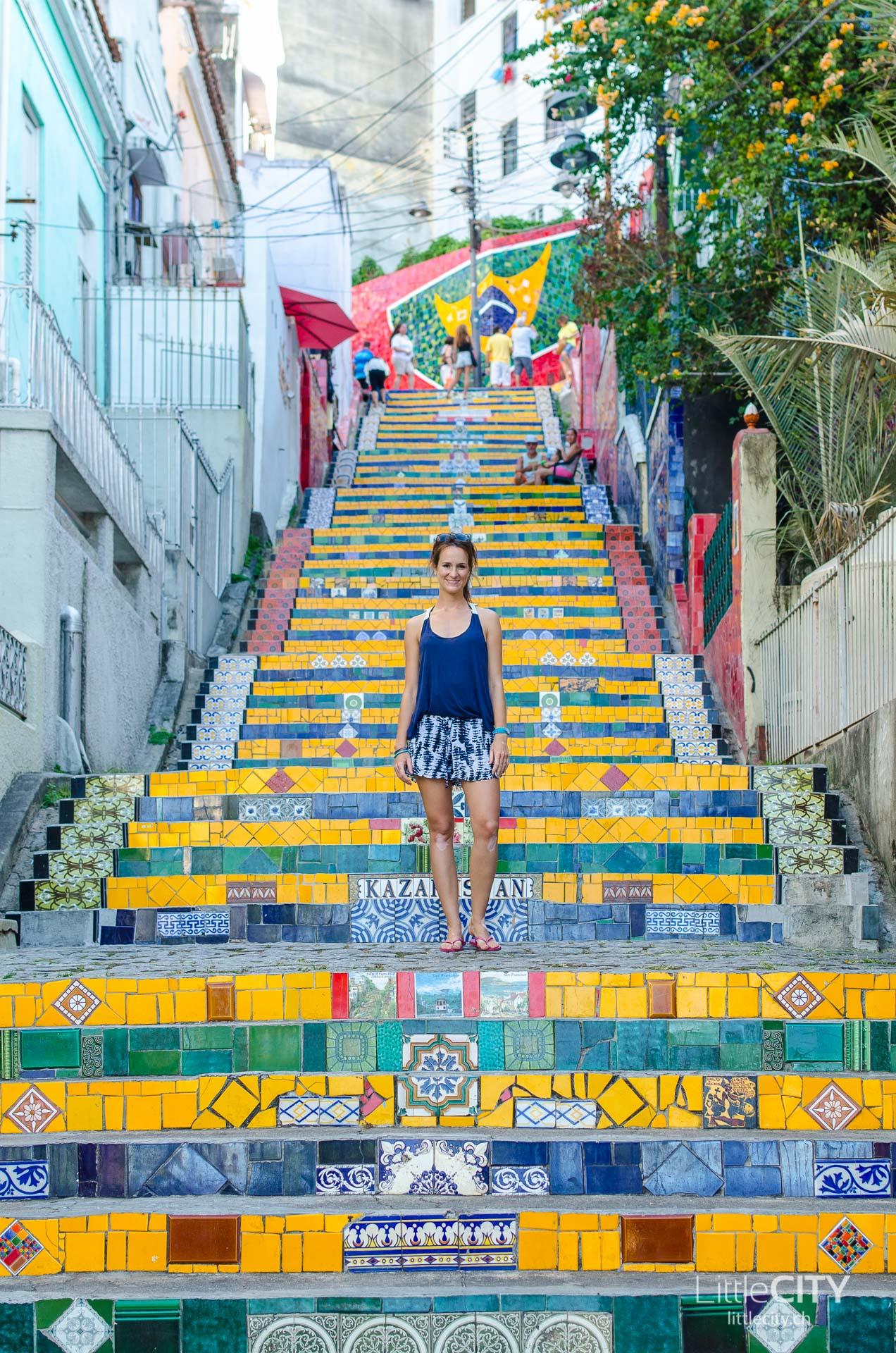 Escadaria Selaron Rio de Janeiro LittleCITY-9