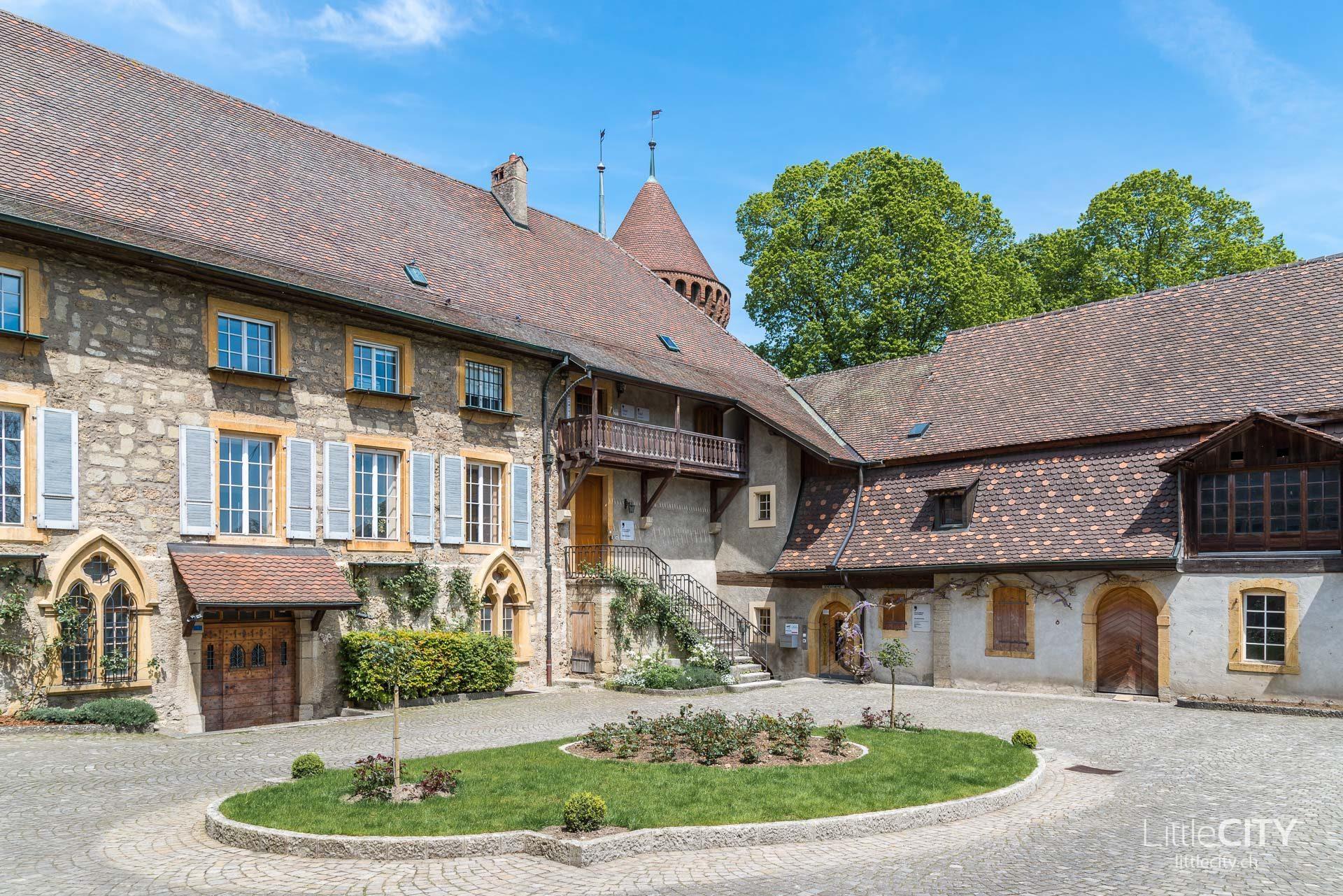 Verwaltung Schloss Chenaux Estavayer le lac