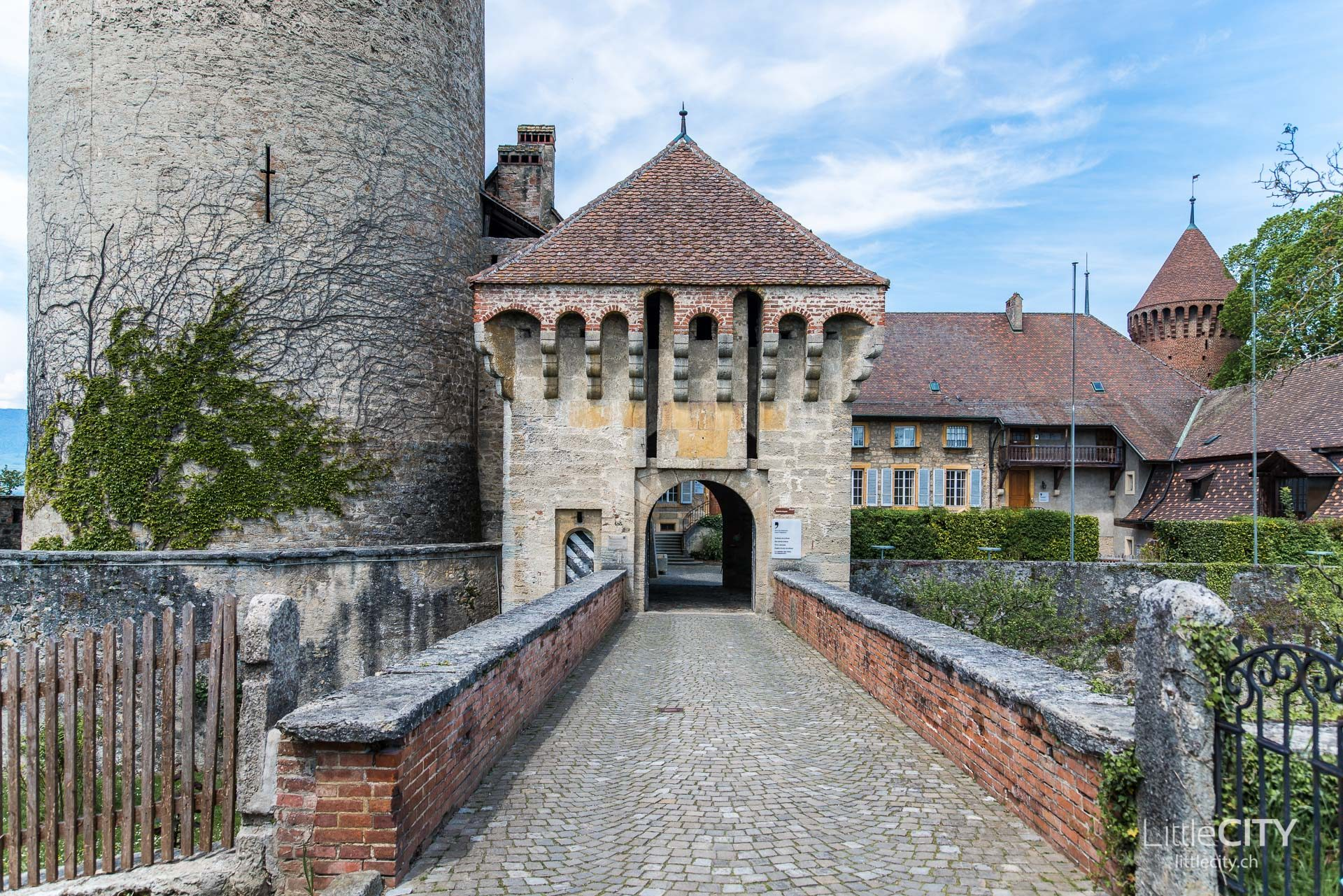 Schloss Chenaux Estavayer le lac