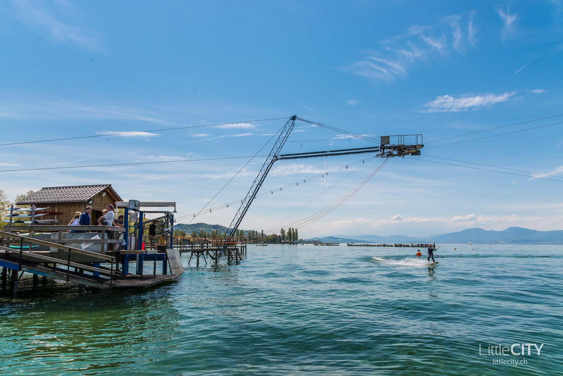 Wasserski Lift Le Rive Sud Estavayer le lac Fribourg