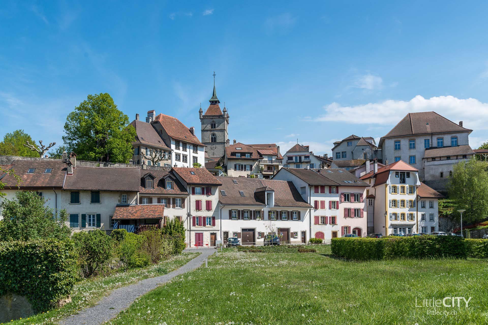 Estavayer le lac Fribourg Reisetipps