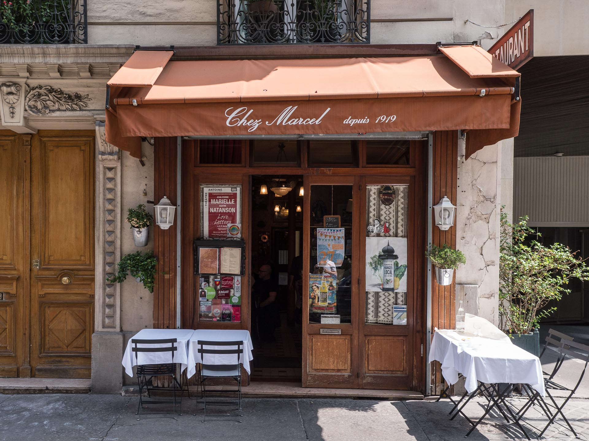 Paris Restauranttipp: Chez Marcel Restaurant Montparnasse