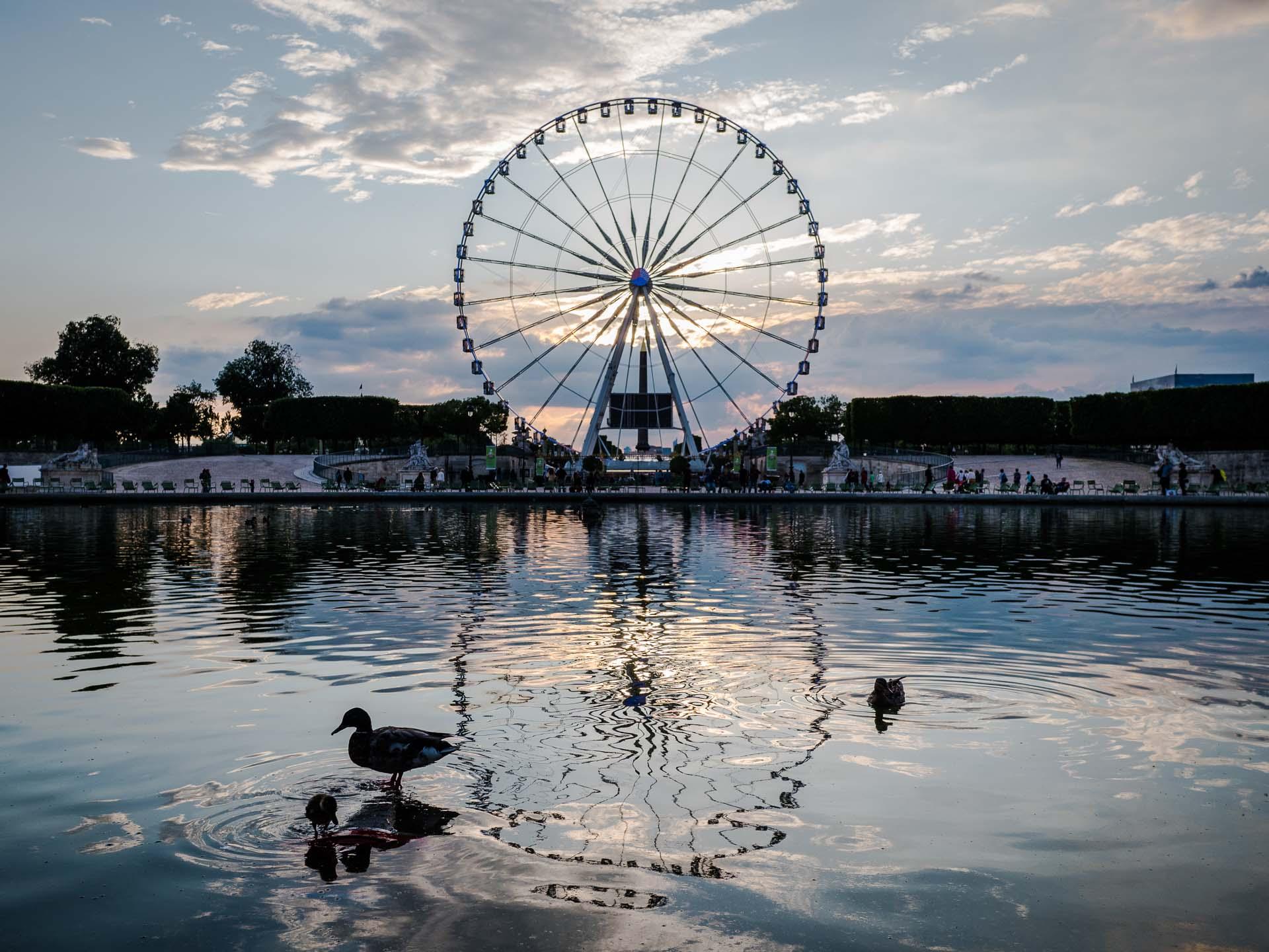 Paris Reisetipp: Jardin des Tuleries Riesenrad