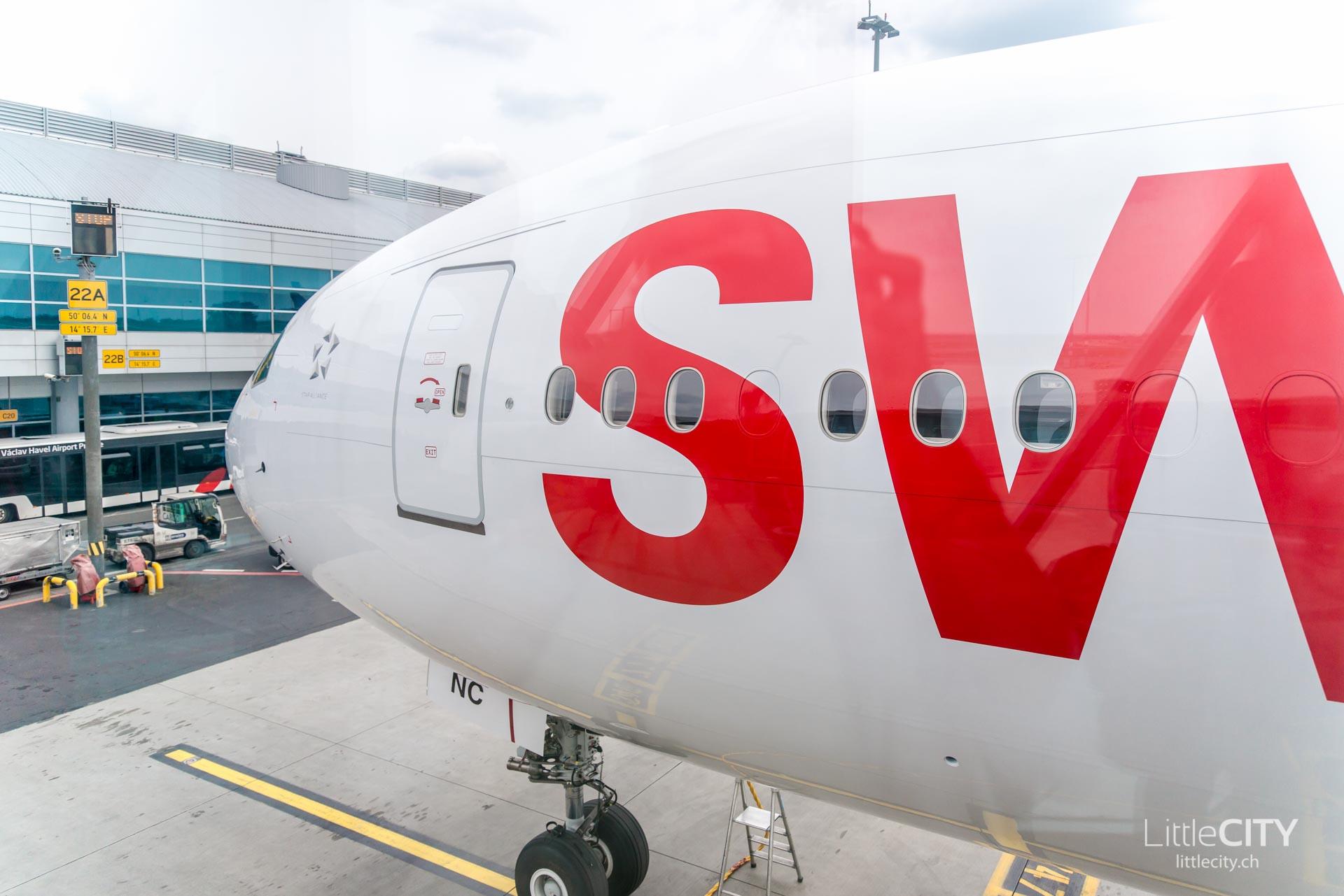 Swiss Boeing 777-1