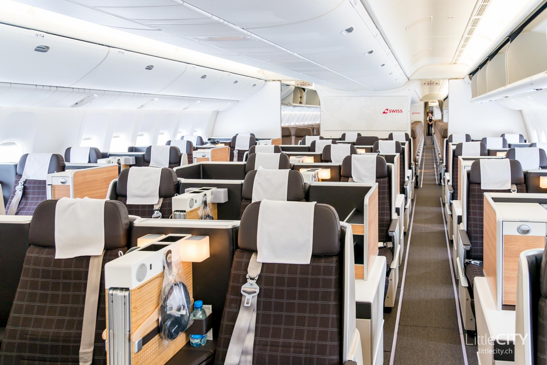 Swiss Boeing 777 Business Class-1