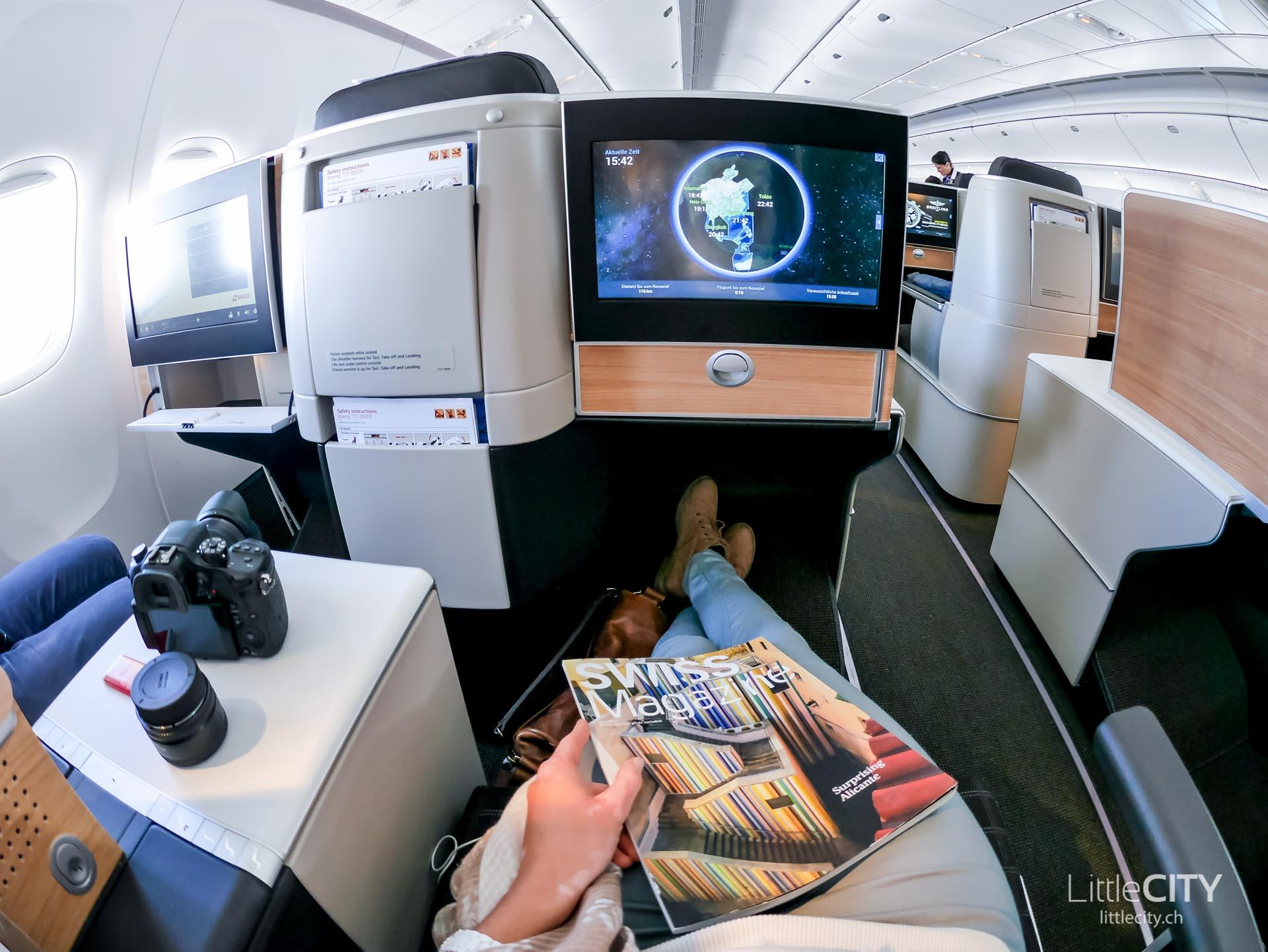 Swiss Boeing 777 Business Class Reiseblog-1