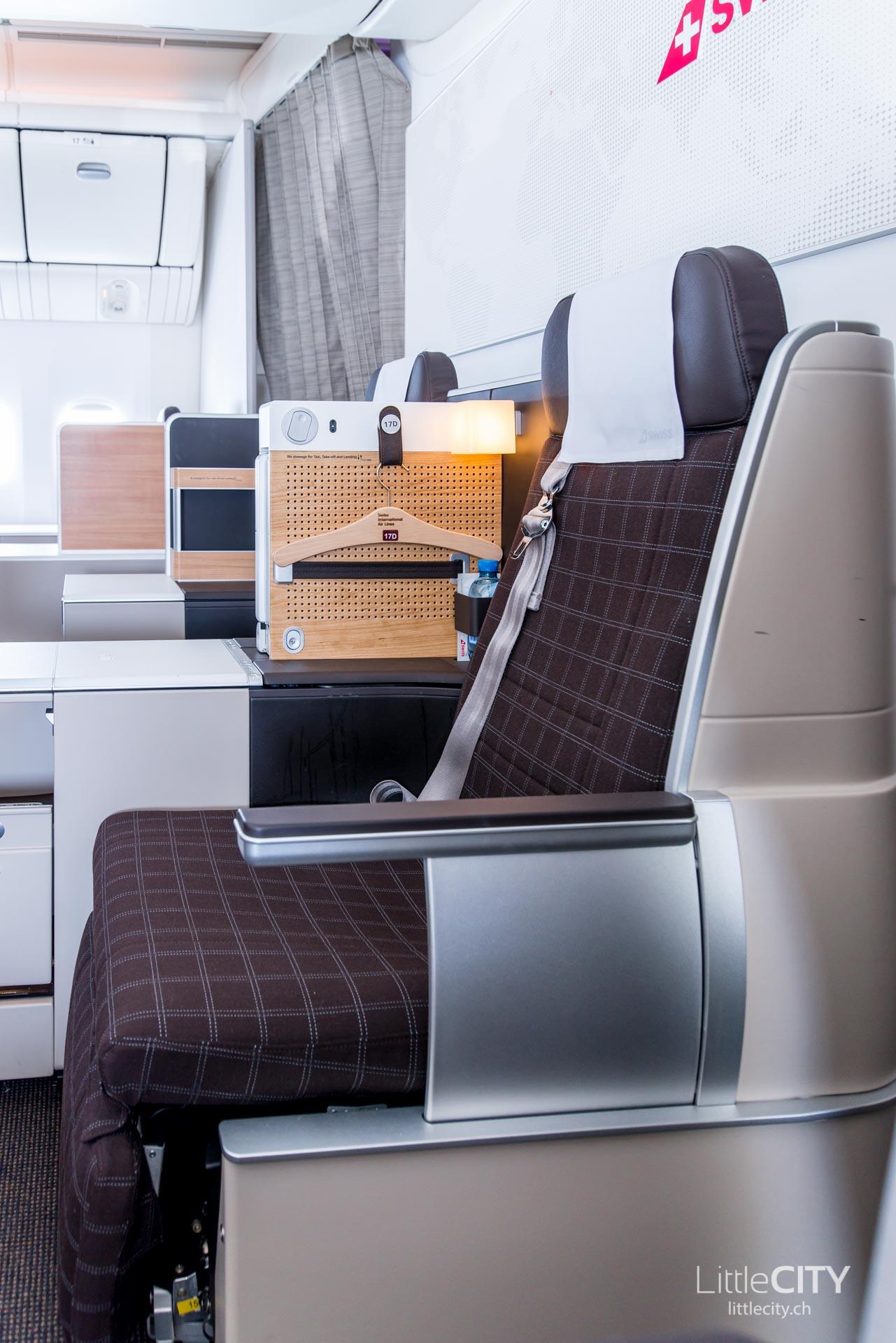 Swiss Boeing 777 Business Class Sitze-1
