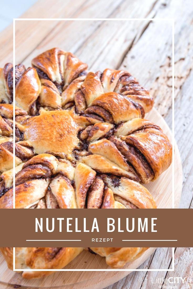 Nutella Blume Rezept