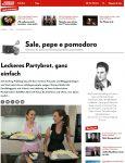 Schweizer Illustrierte: Kochen mit Cookinesi