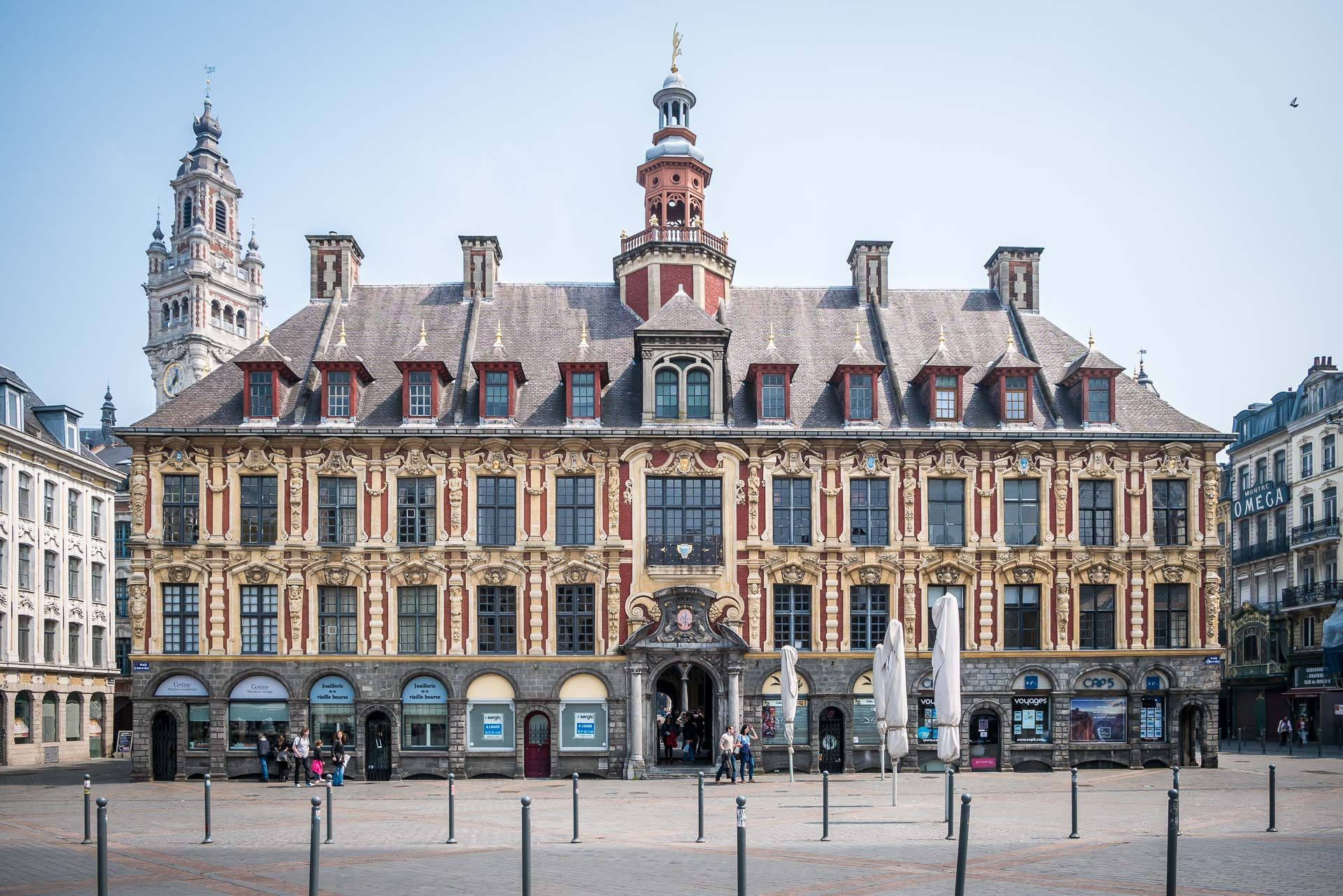 Lille Sehenswürdigkeiten Alte Börse Lille Frankreich