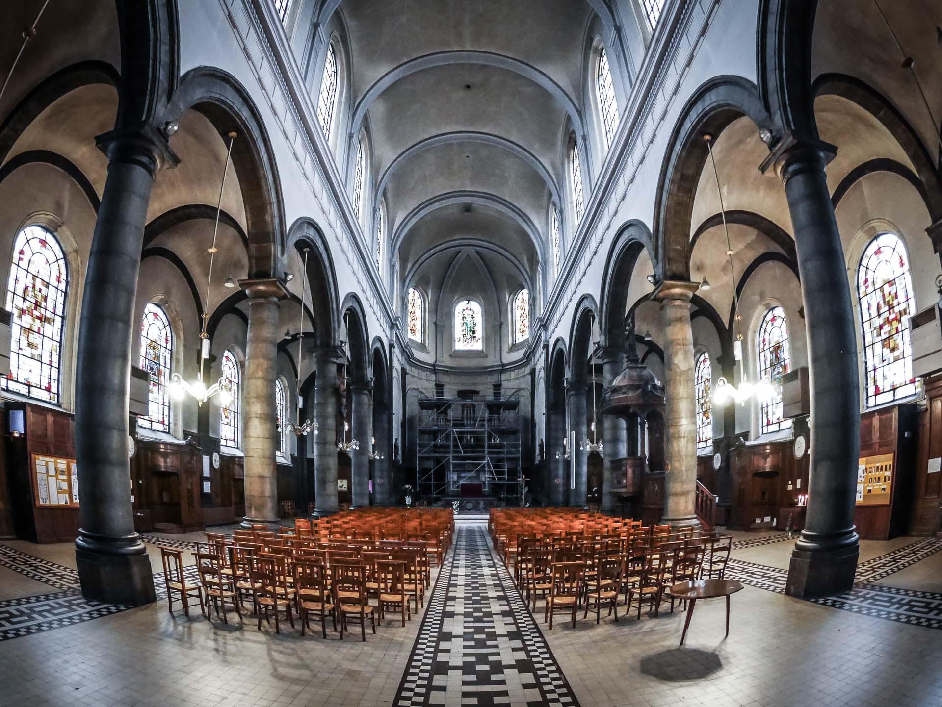Lens - Église Saint-Léger de Lens-1