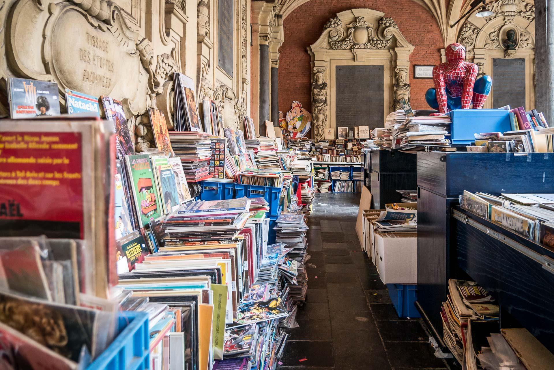 Lille Alte Börse Bücher Flohmarkt