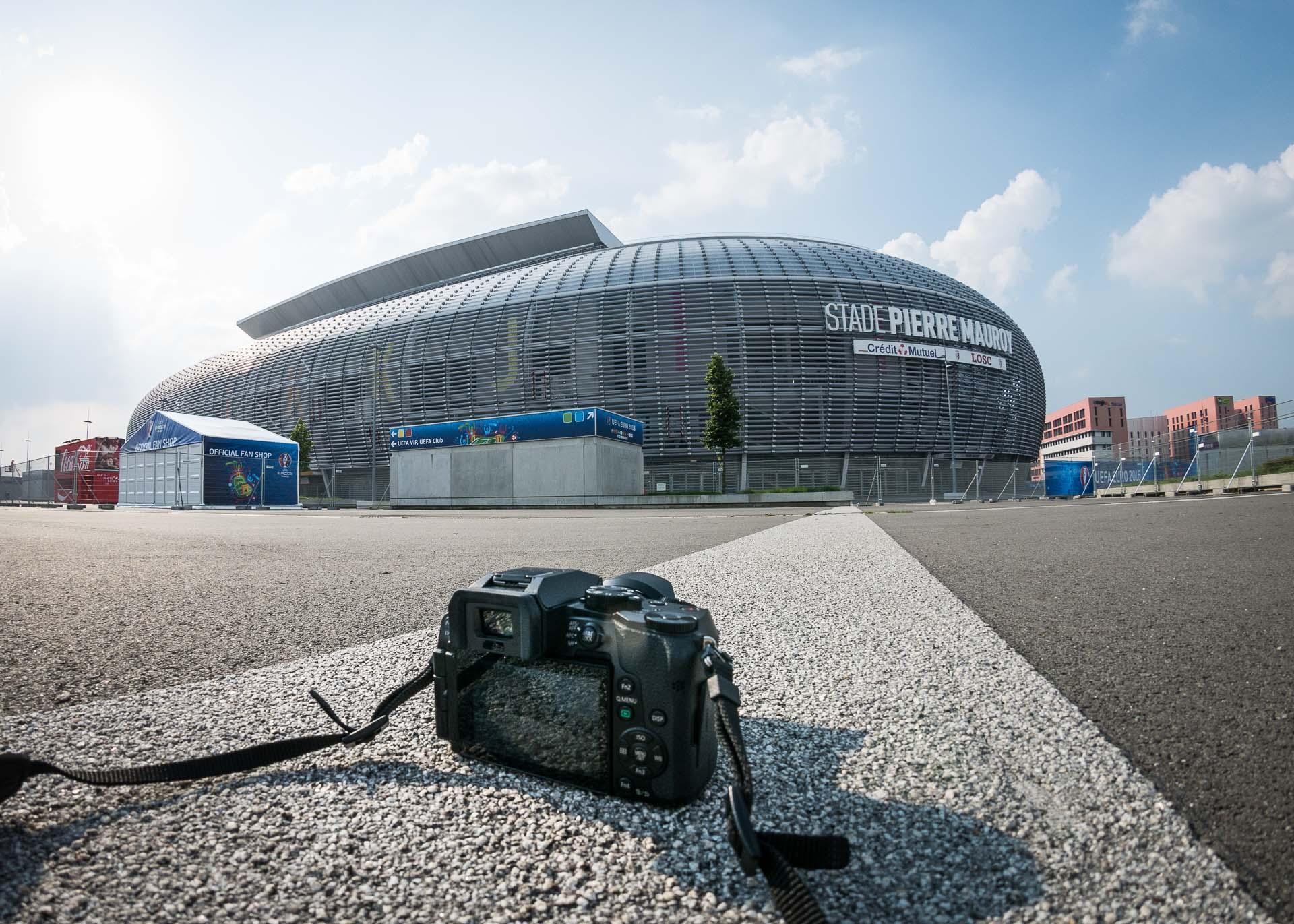 Lille Stade Pierre Mauroy Lumix G70-1