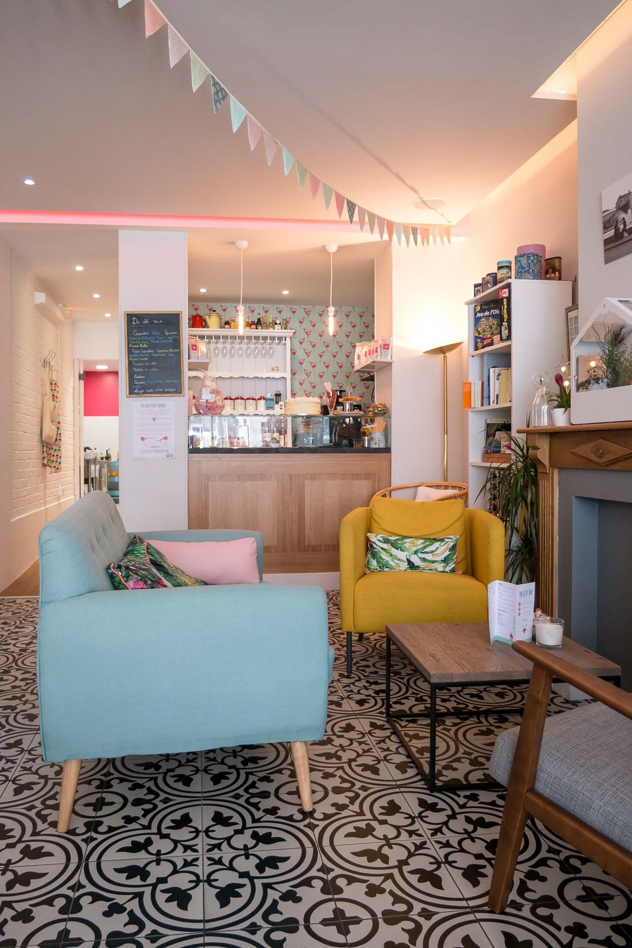 Pink Flamingo Lille Café Tipp-1