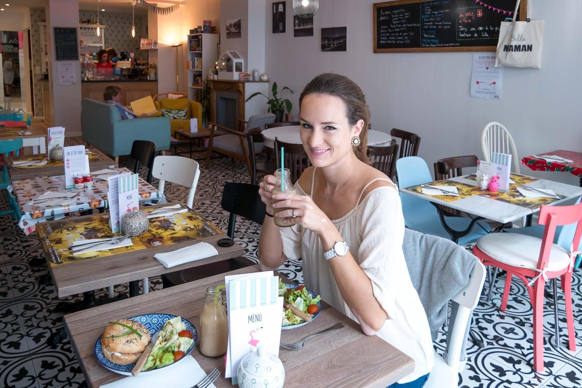 Pink Flamingo Lille Café Tipp-2
