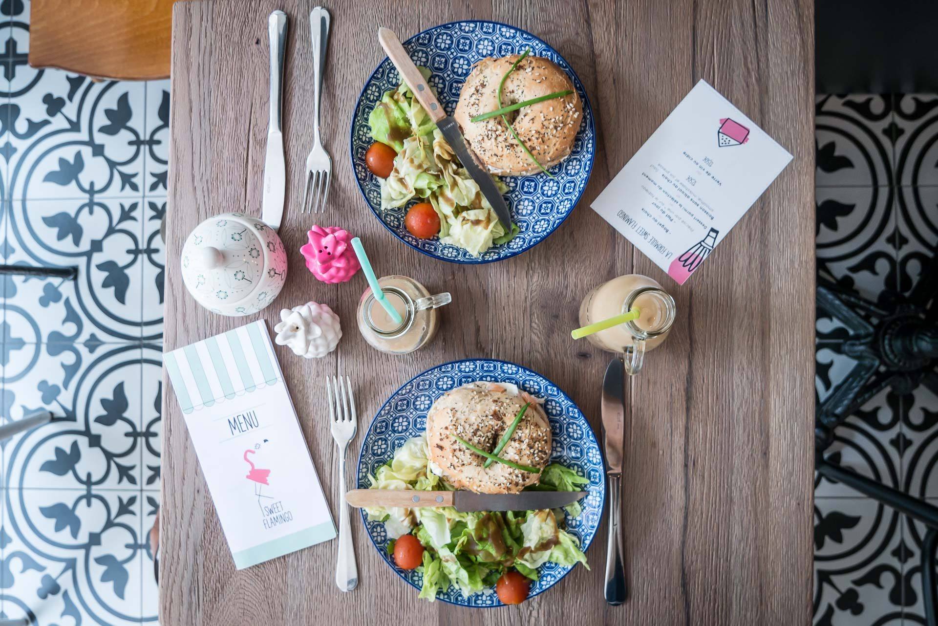 Pink Flamingo Lille Café Tipp-3