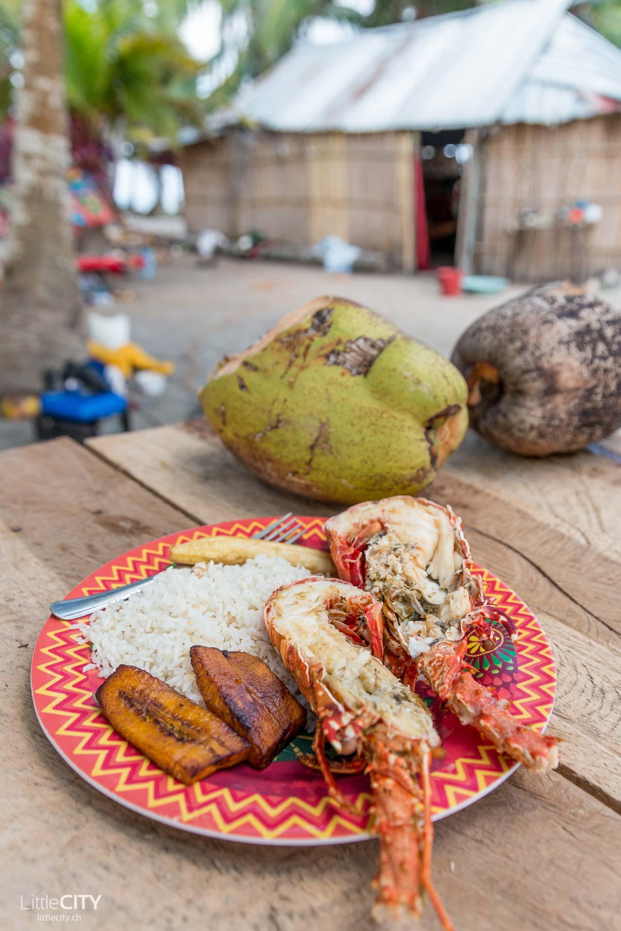 San Blas Inseln Restaurant