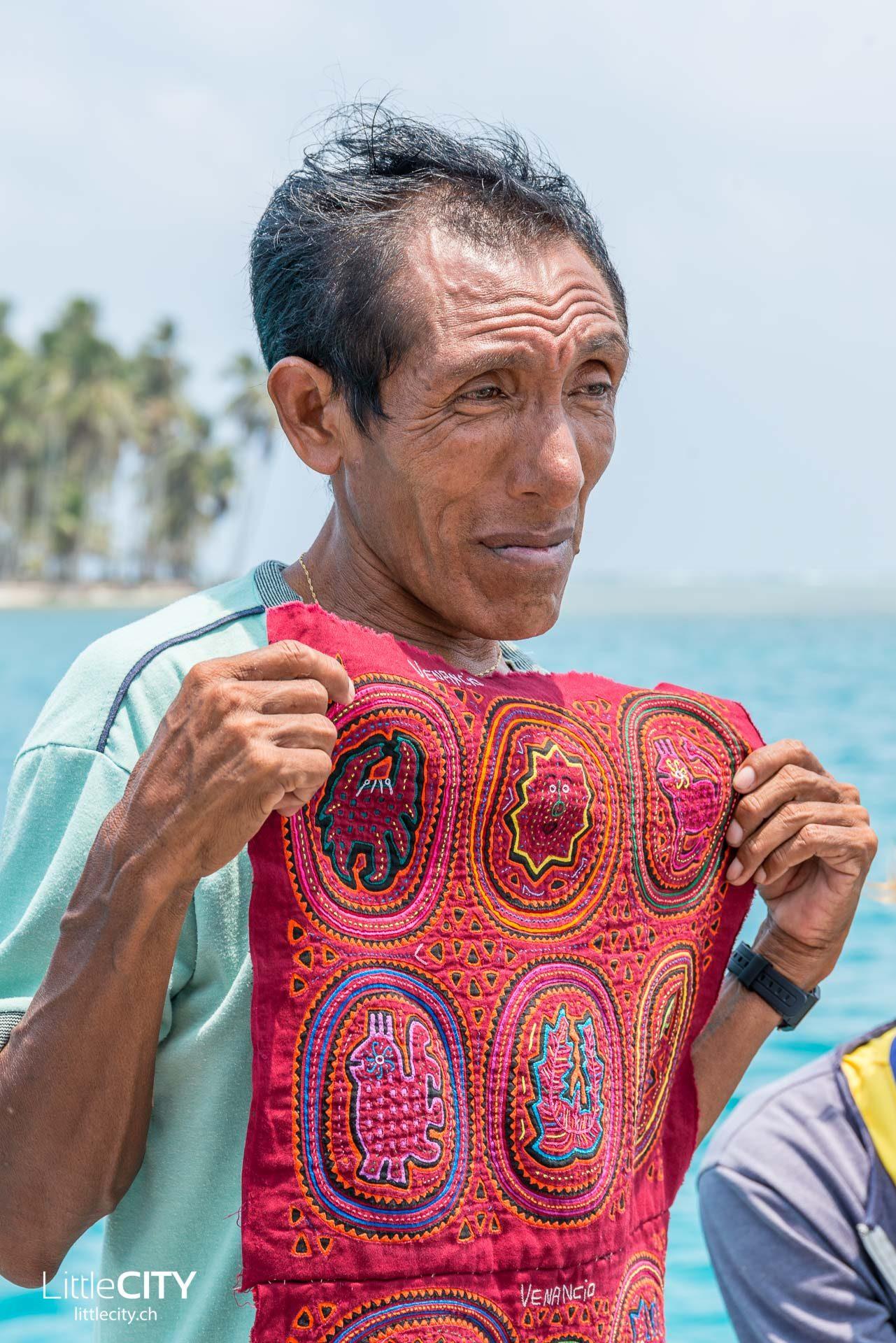 Mola Stickereien San Blas Kuna Yala