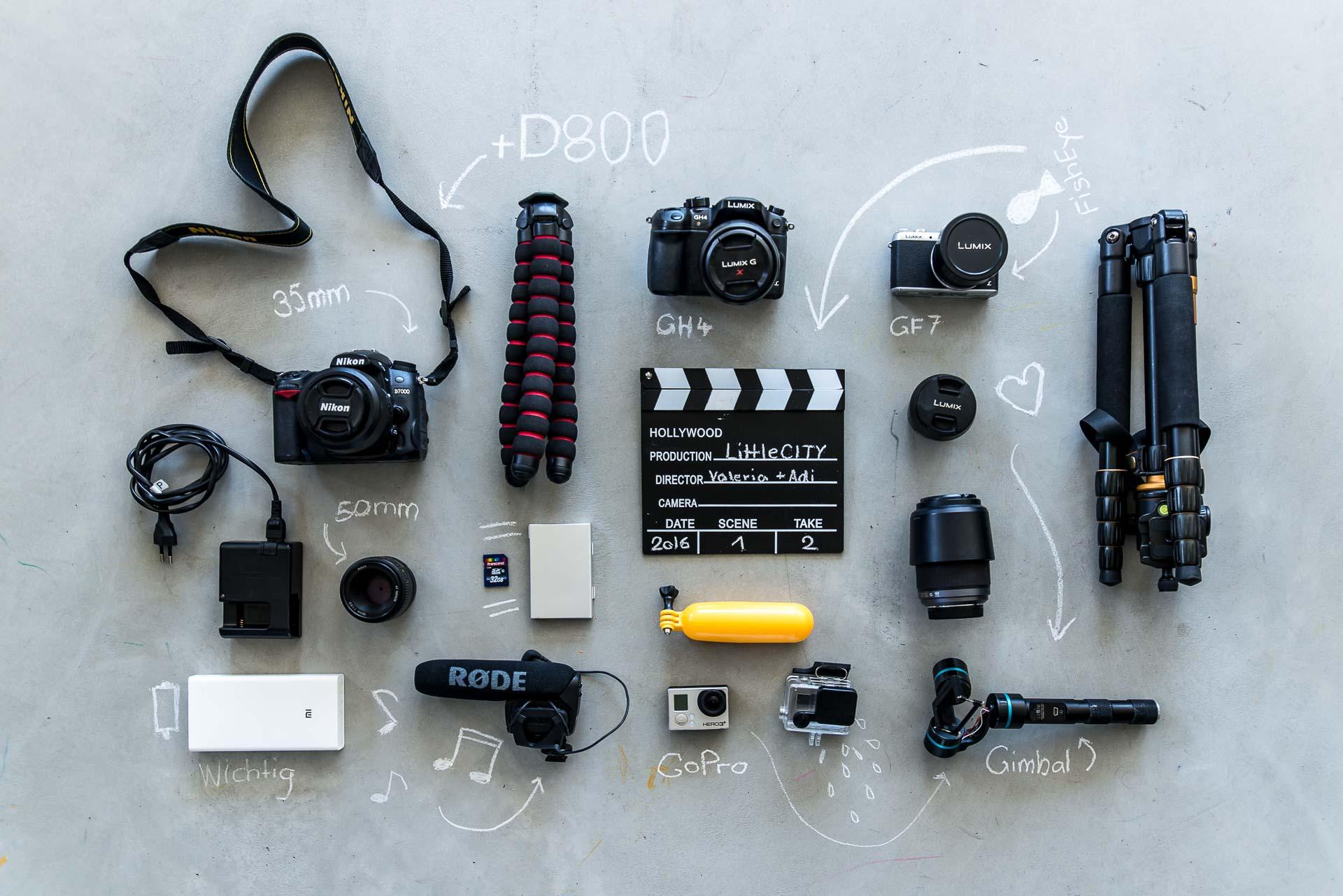 Bloggerausrüstung Technik-2