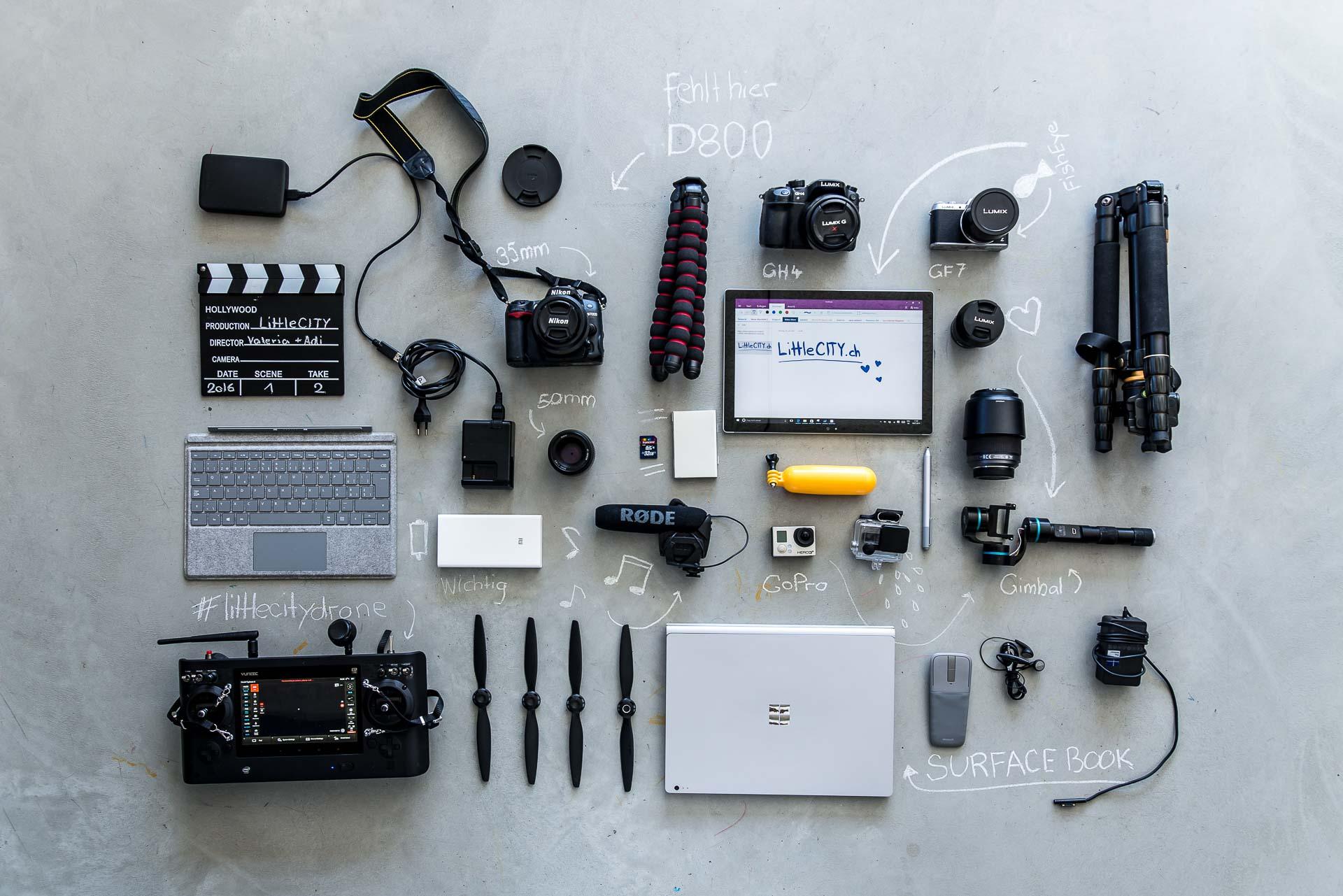 Bloggerausrüstung Technik Surface-1