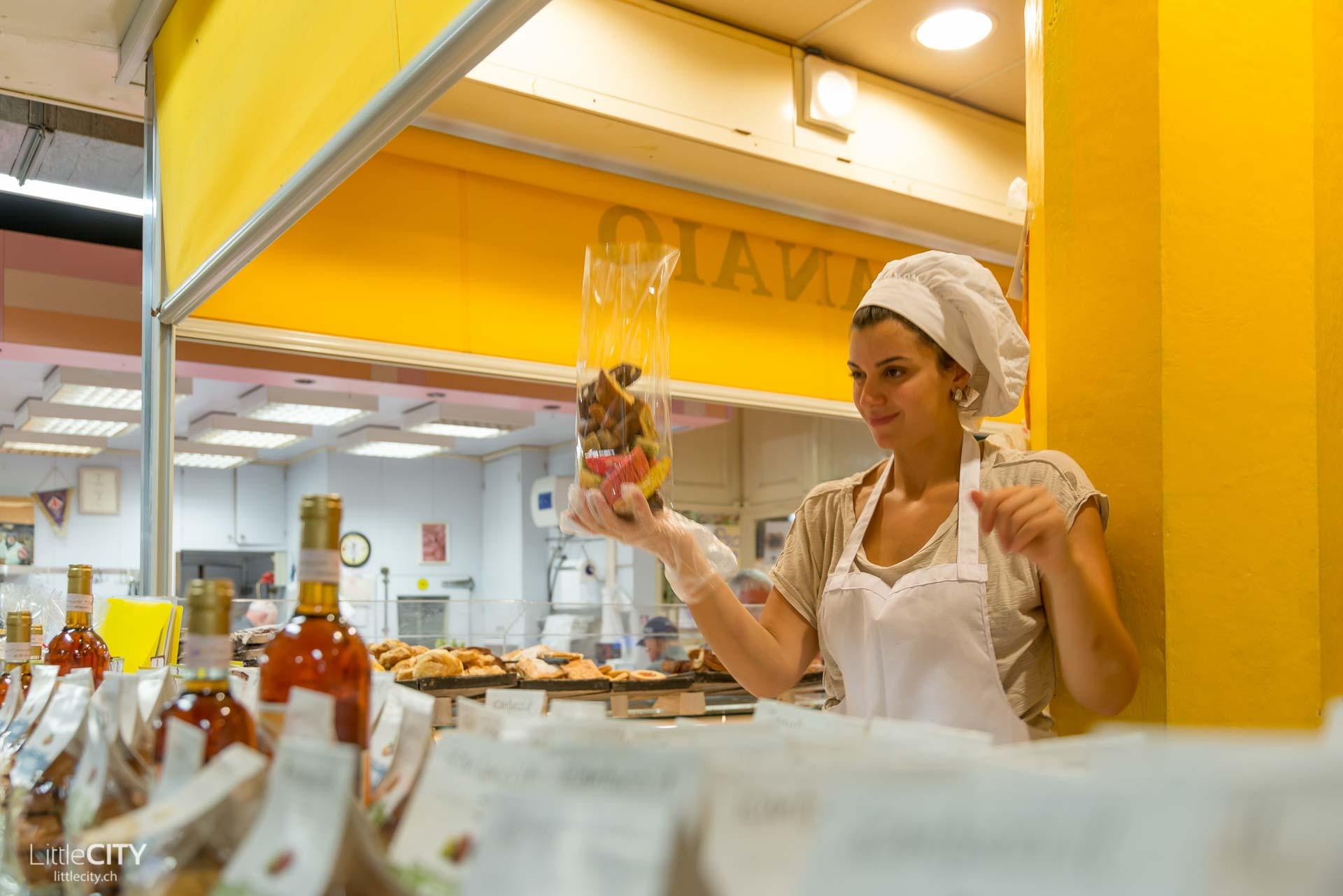 Florenz Reisetipp Mercato Centrale Biscotti