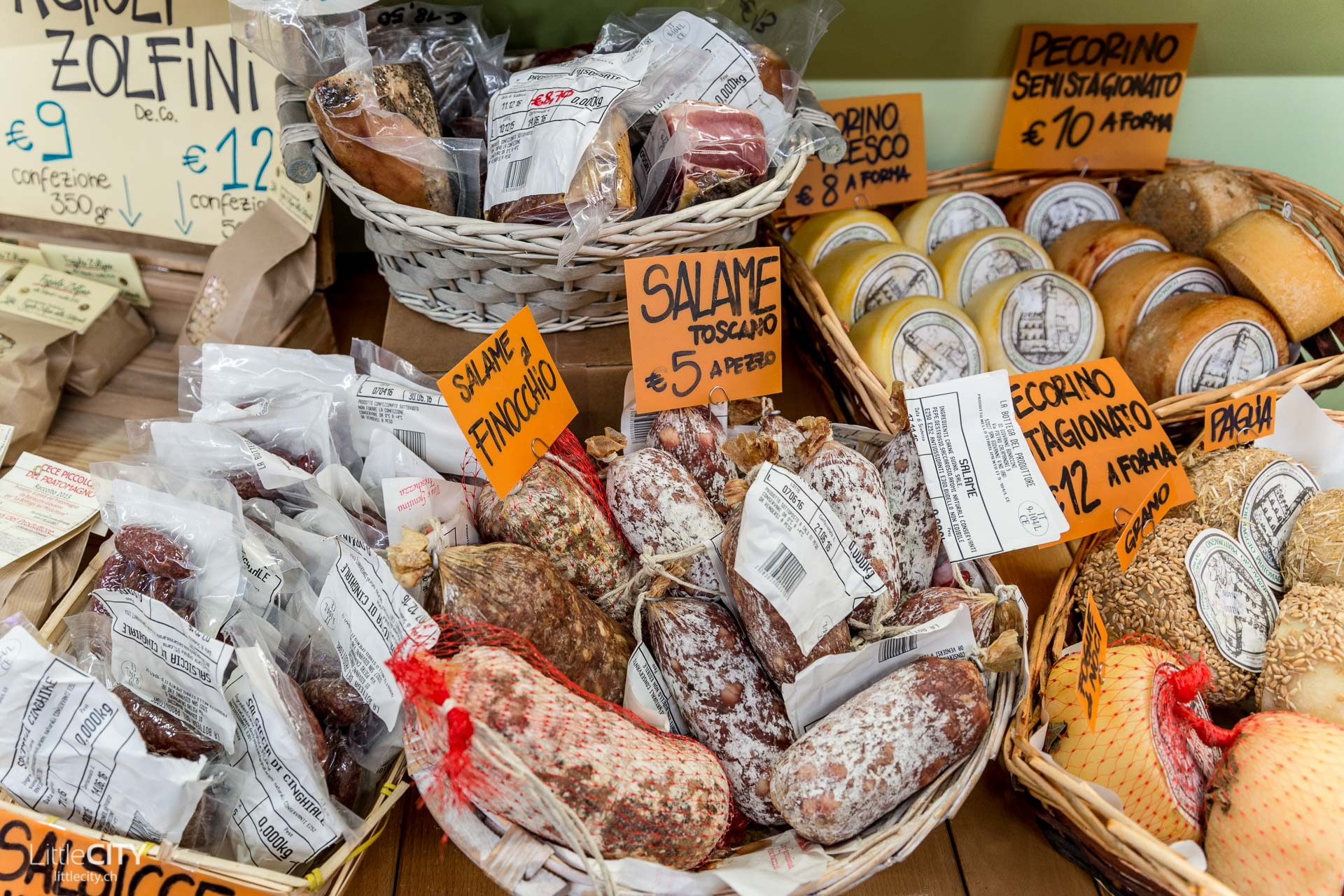 Florenz Reisetipp Mercato Centrale Salami