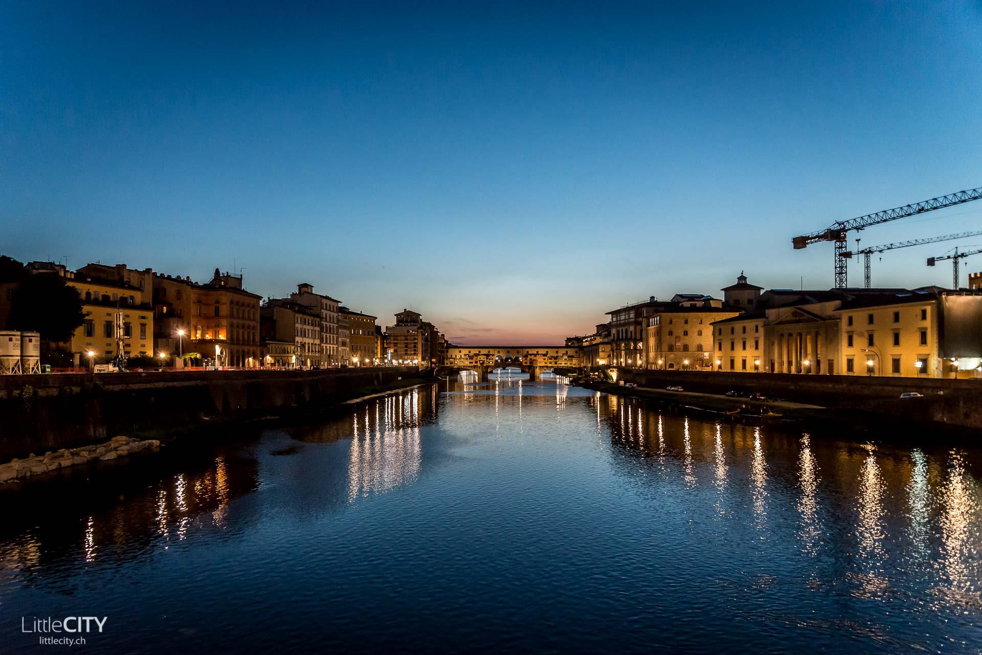 Florenz Reisetipp Ponte Vecchio in der Nacht