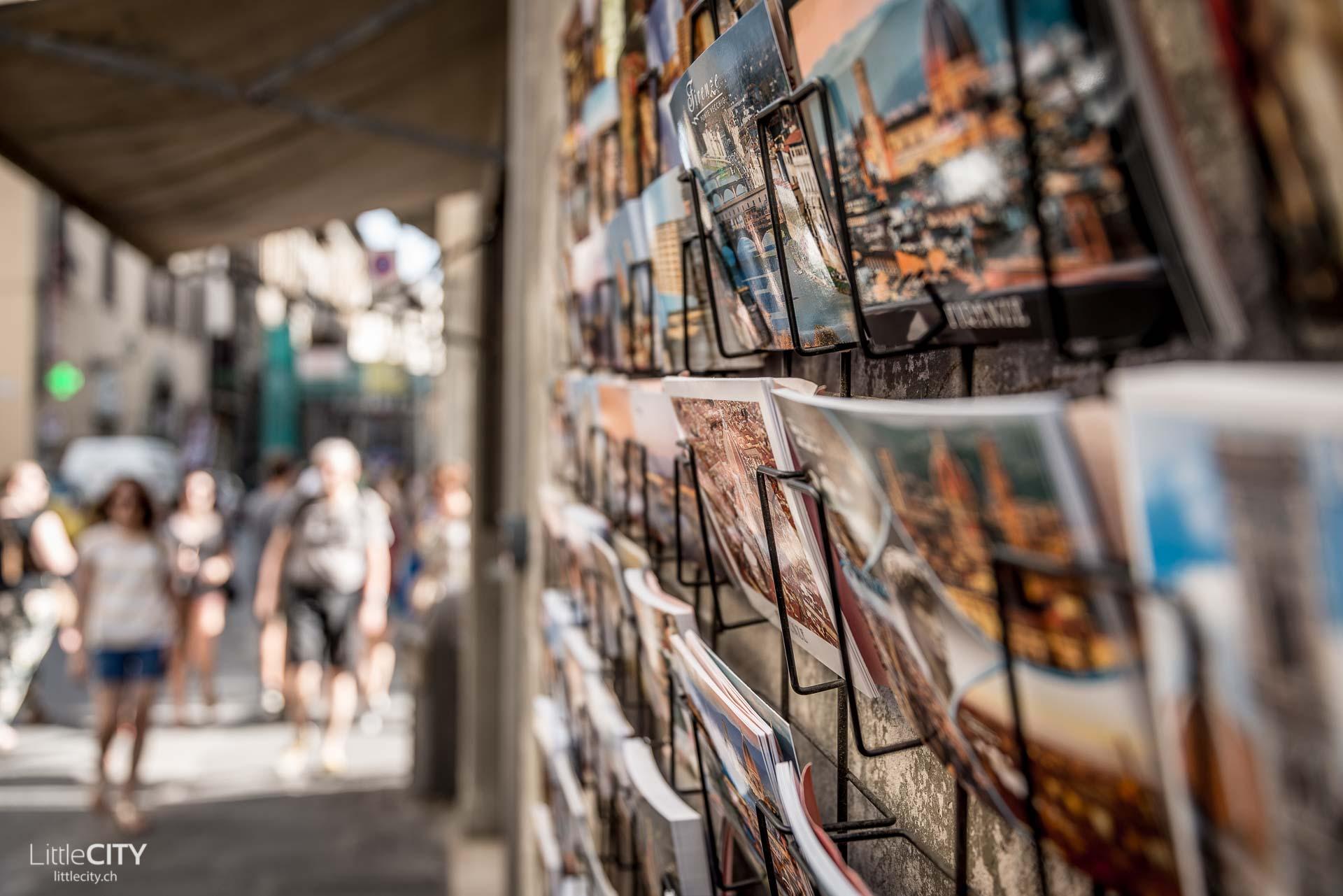 Florenz Reisetipp Postkarten