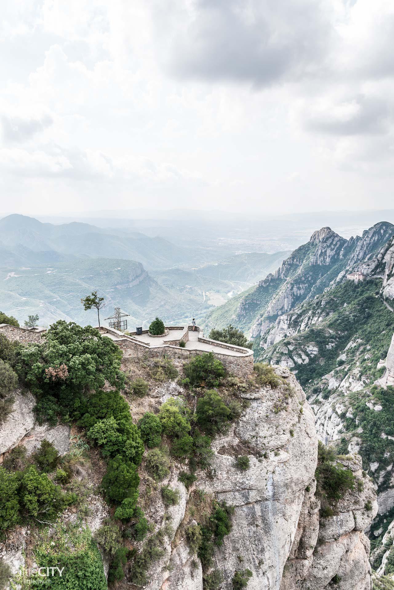 Kloster Montserrat Barcelona Aussichtsplattform