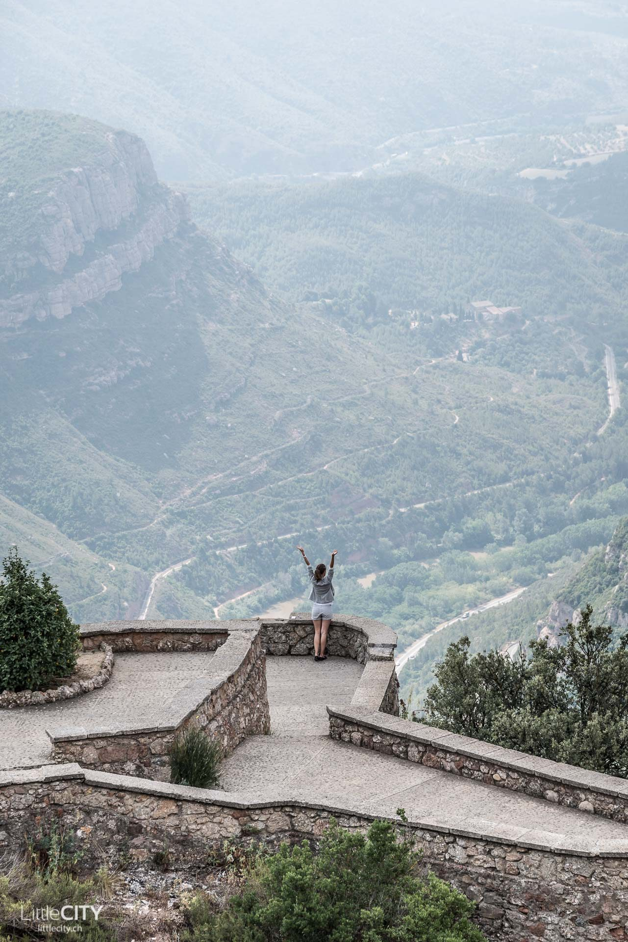 Kloster Montserrat Barcelona View