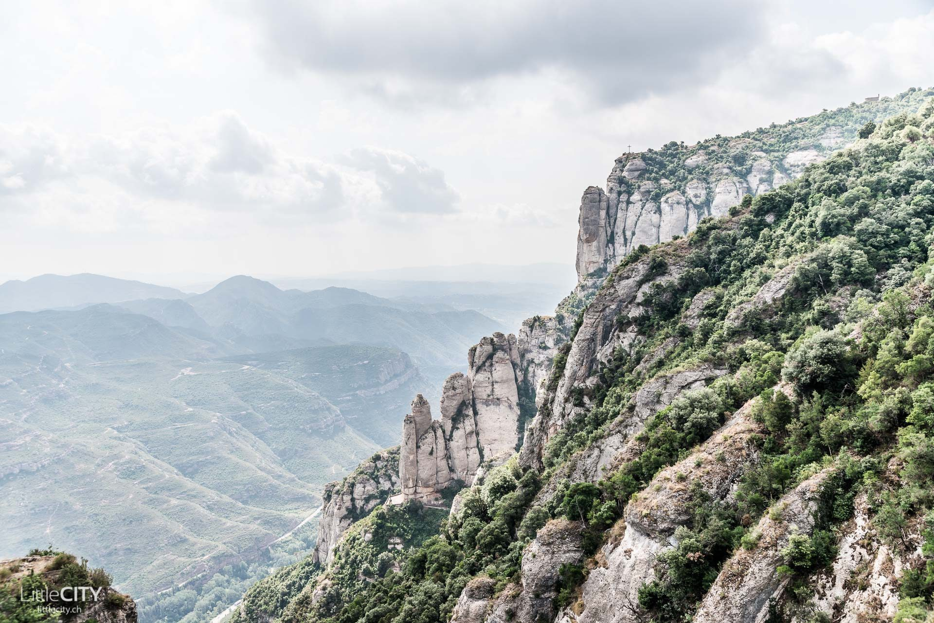 Montserrat Gebirge Barcelona
