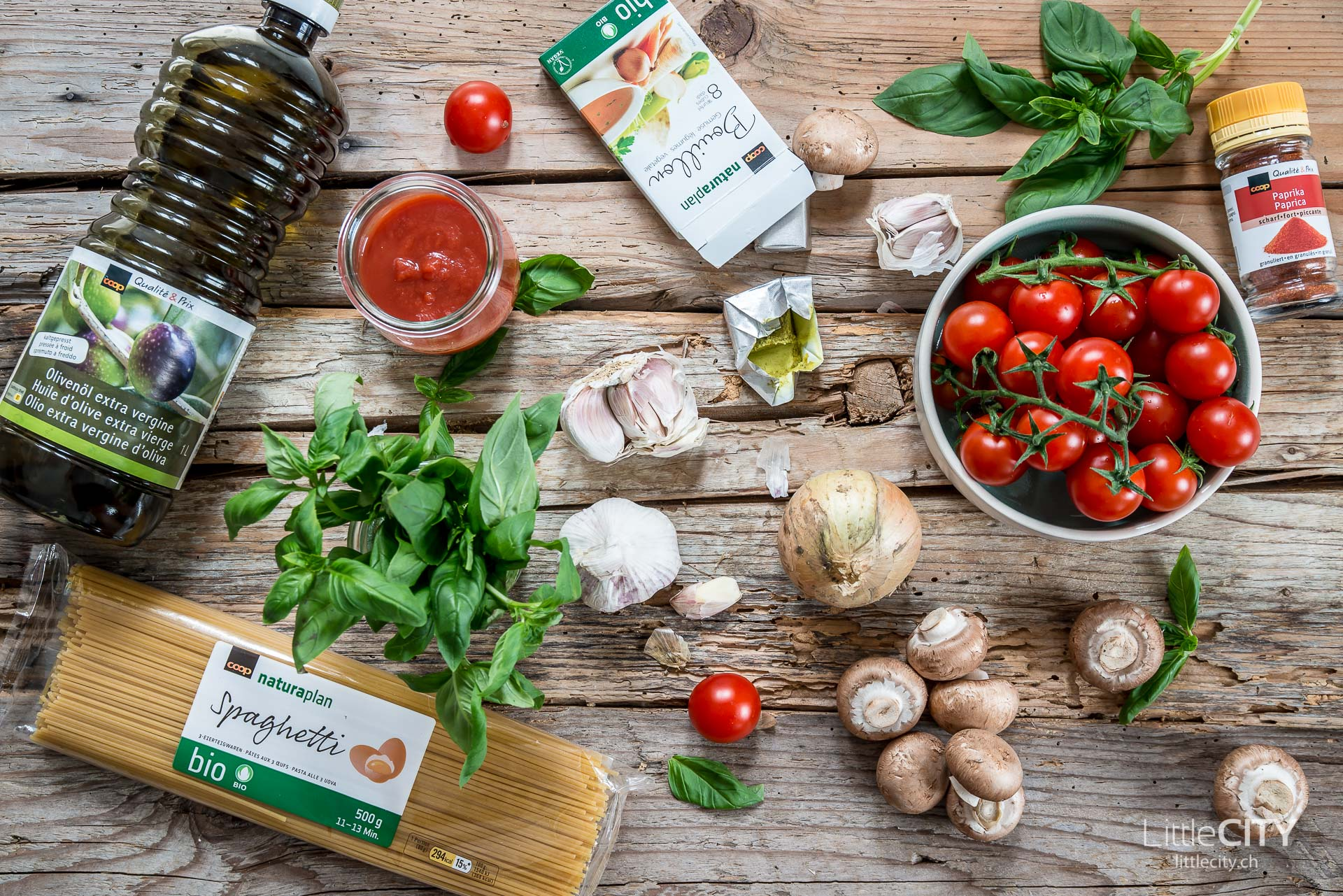 One Pot Pasta mit Tomaten Rezept-1